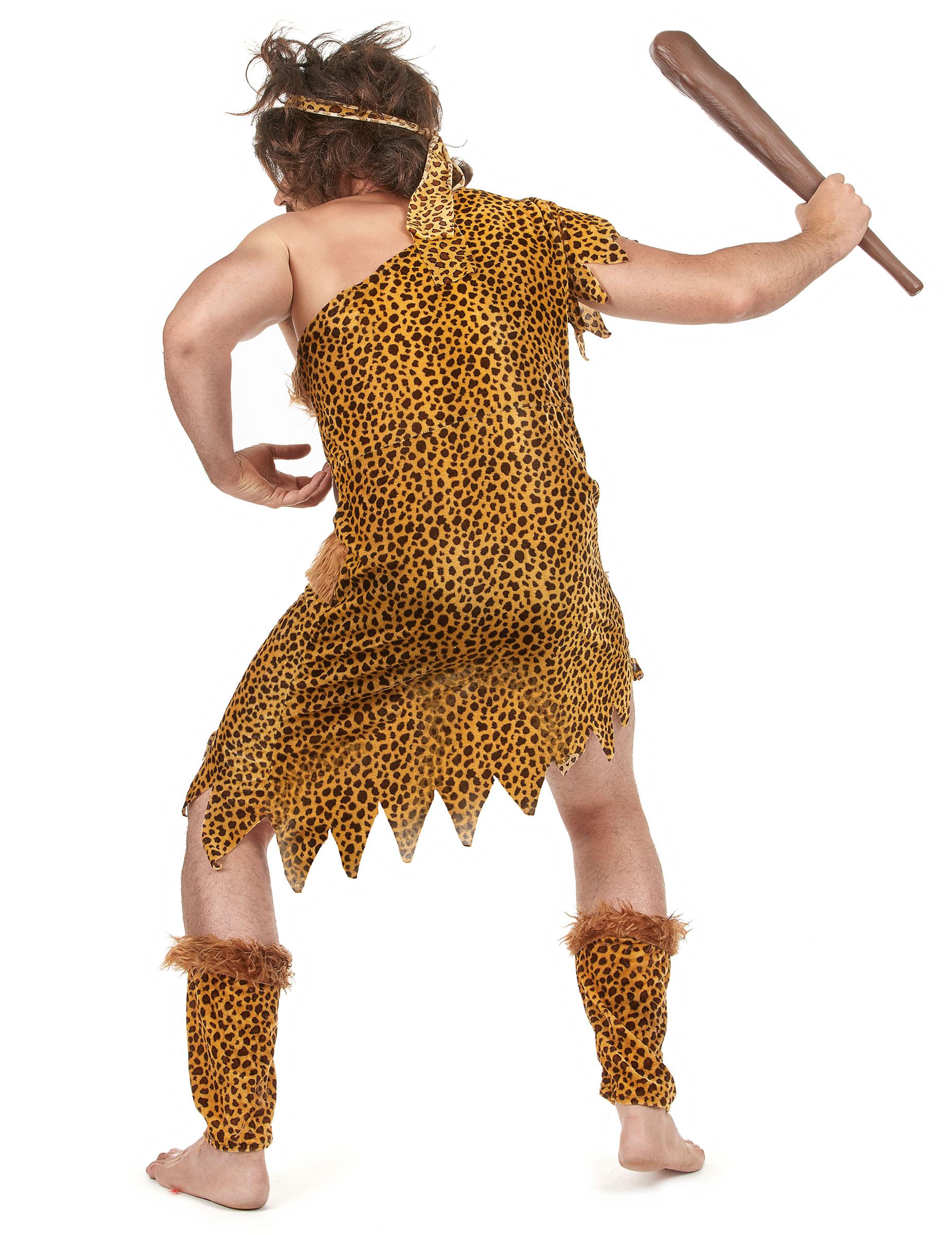 Da Uomo delle Caverne Costume per PREISTORICO Nativo Costume