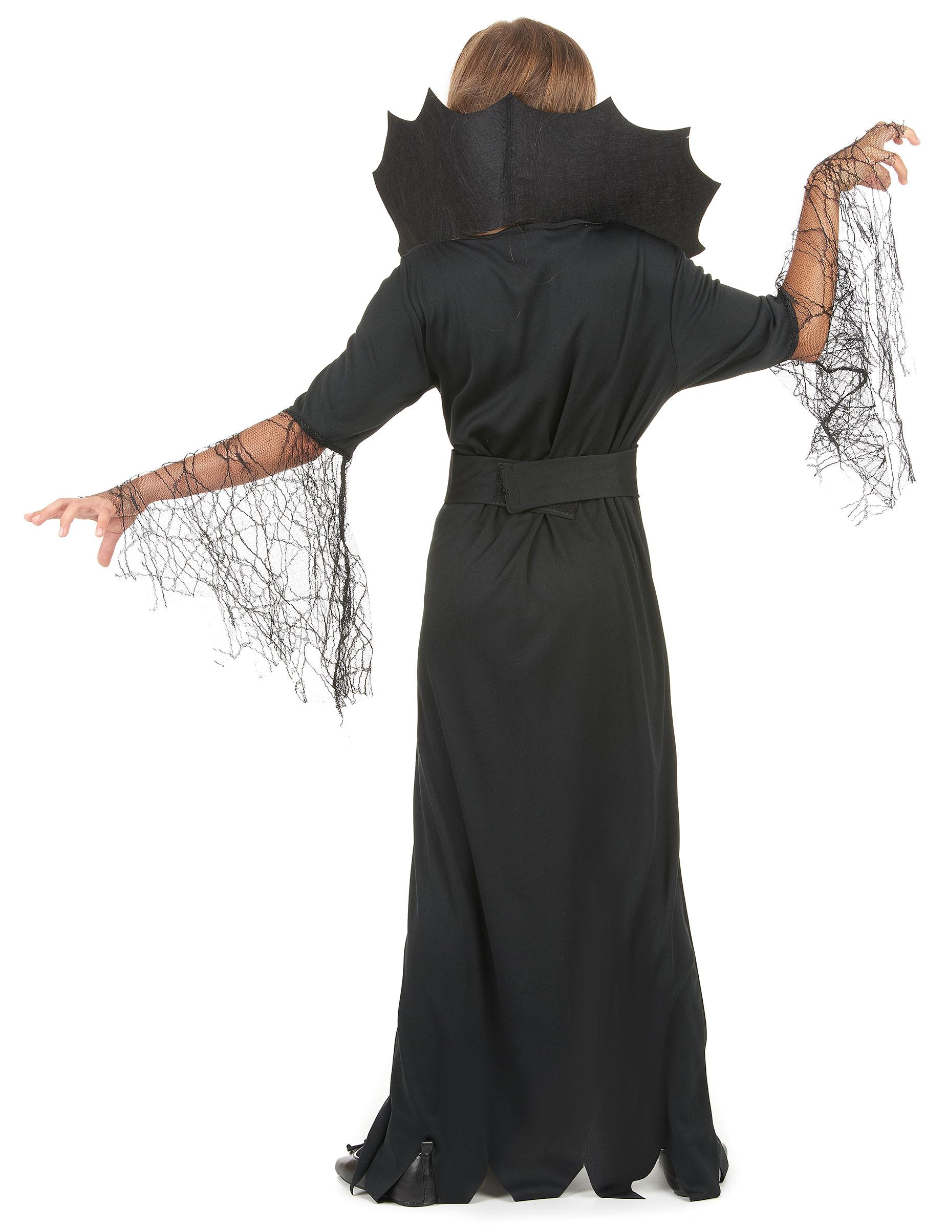Costume da strega ragno per bambina- Halloween-2 e84edce1a46d