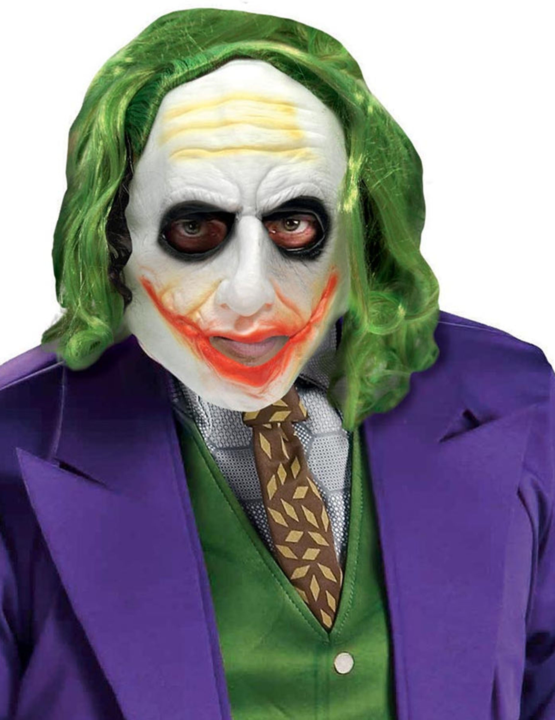 Maschera de luxe joker™ adulto maschere e vestiti di carnevale