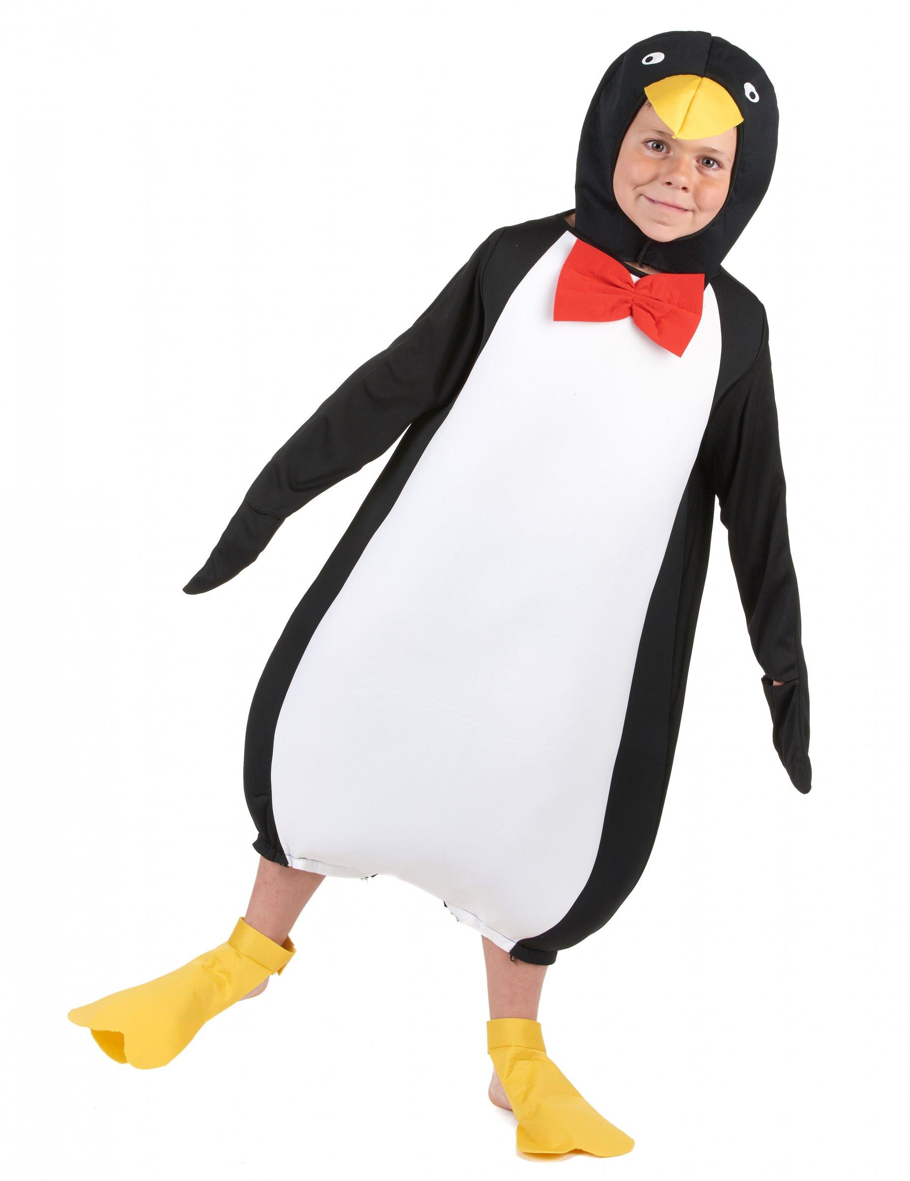 trova fattura presa all'ingrosso nuovo design Costume pinguino bambino