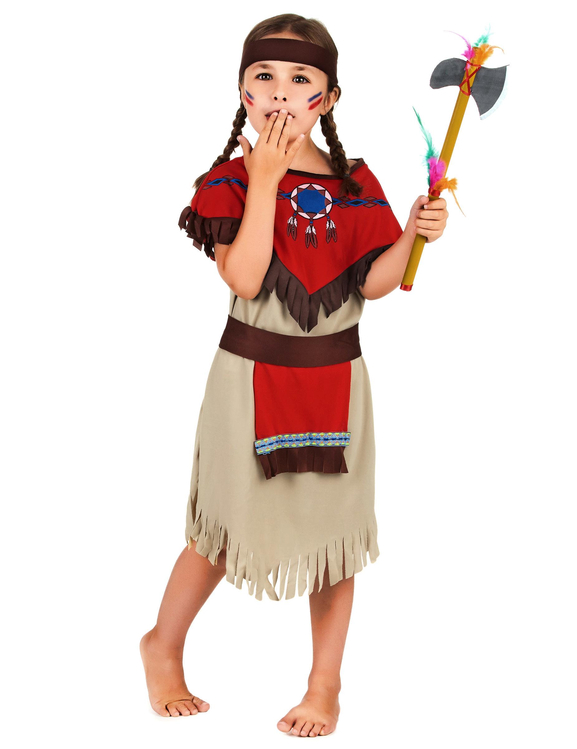 indiana carnevale bambina  Costume da indiana bambina: Costumi bambini,e vestiti di carnevale ...