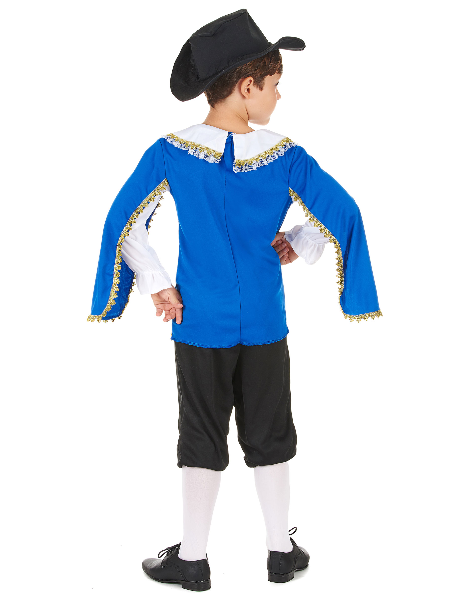 Costume moschettiere blu bambino  Costumi bambini 27ce0b947d70