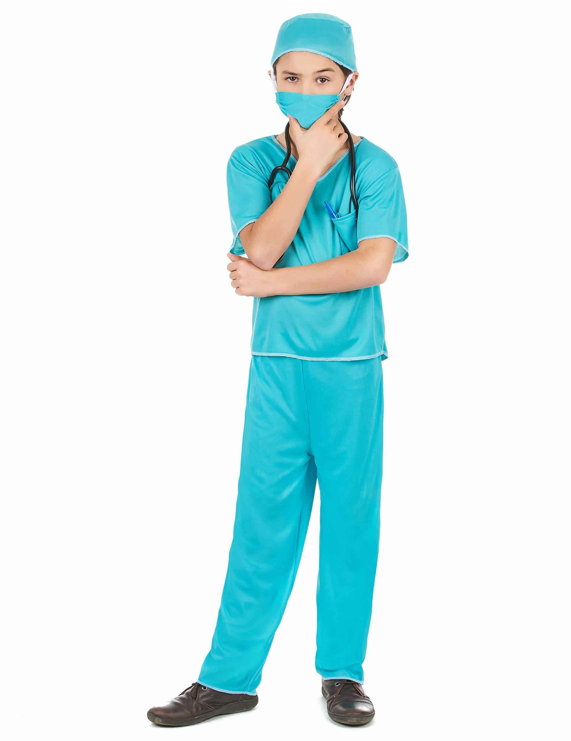 Bambini Costume da Dottore Costume Infermiera Scrubs