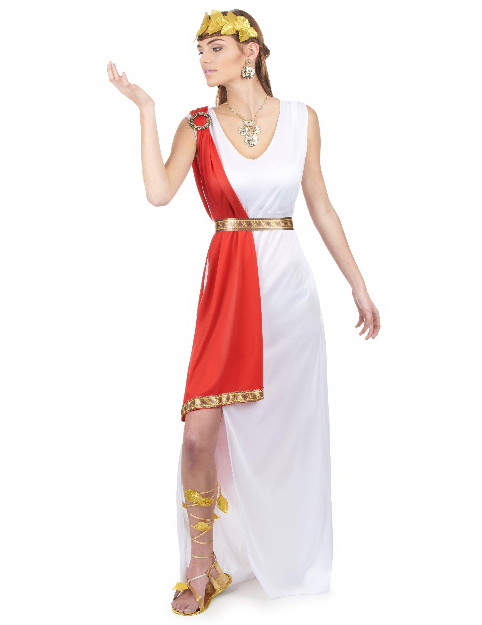 Costume dea romana per donna  Costumi adulti 76e0d99af61