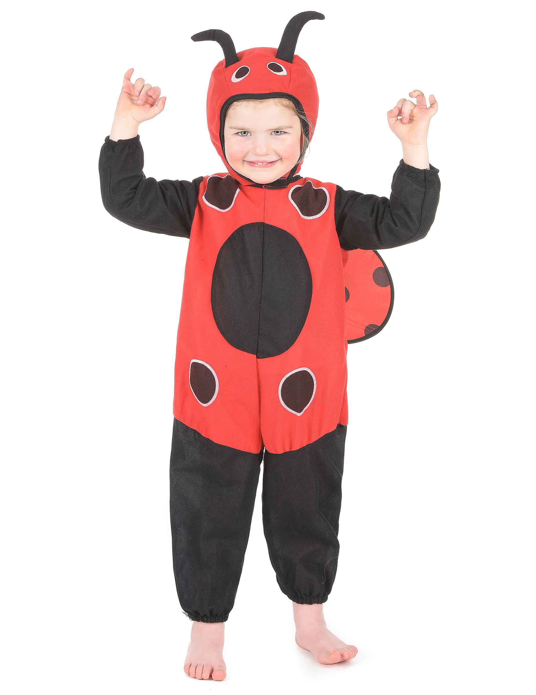 Costume coccinella bambino costumi bambini e vestiti di - Disfraz de mariquita bebe ...