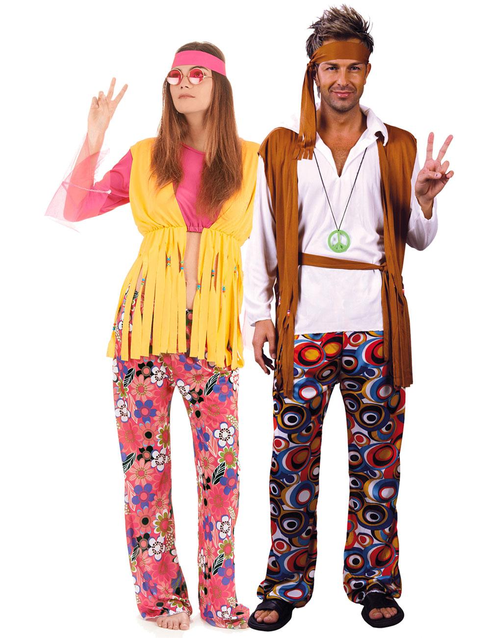 Eccezionale Costume coppia hippy: Costumi coppia,e vestiti di carnevale online  GL12