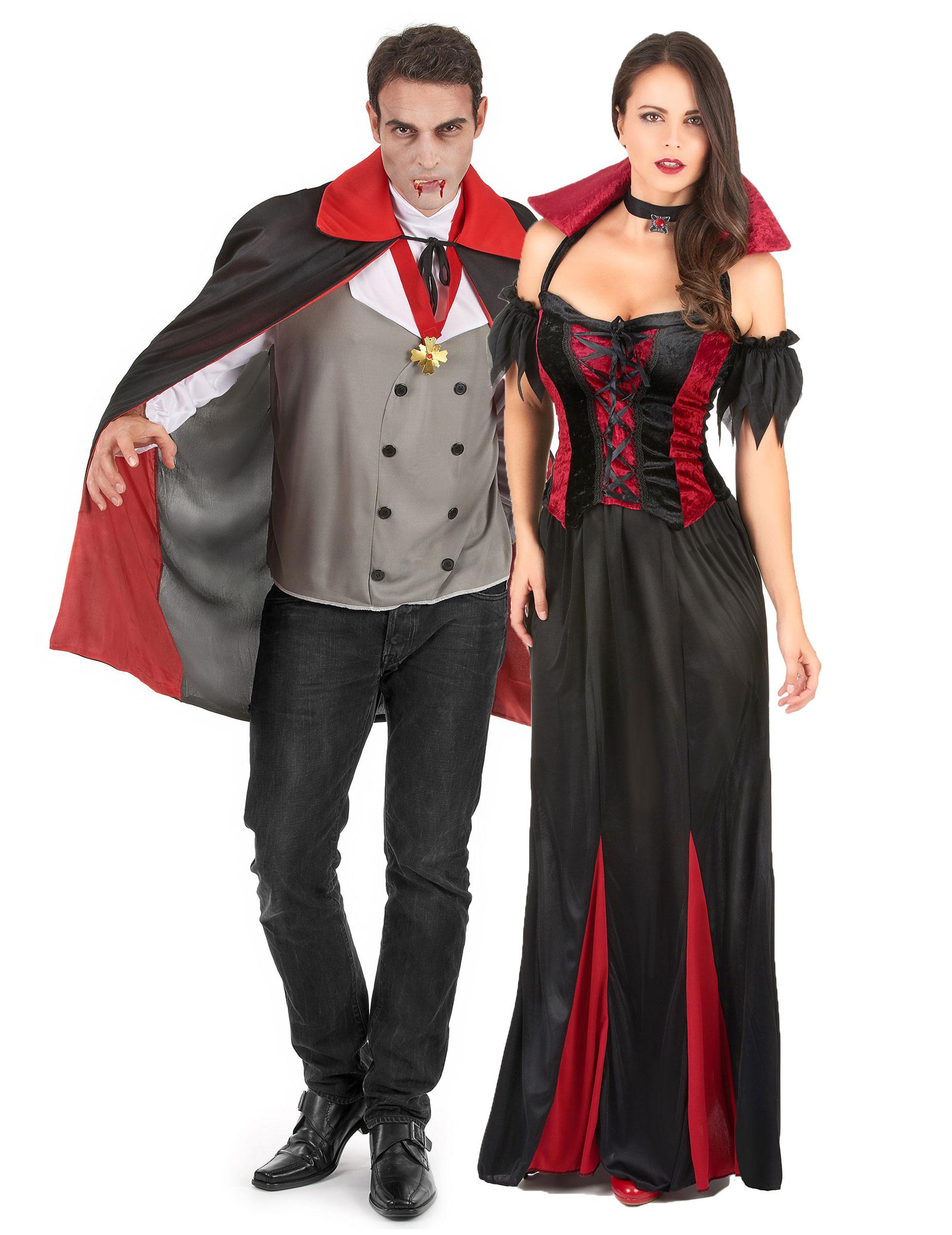 VAMPIRO Costume Spaventoso Costume