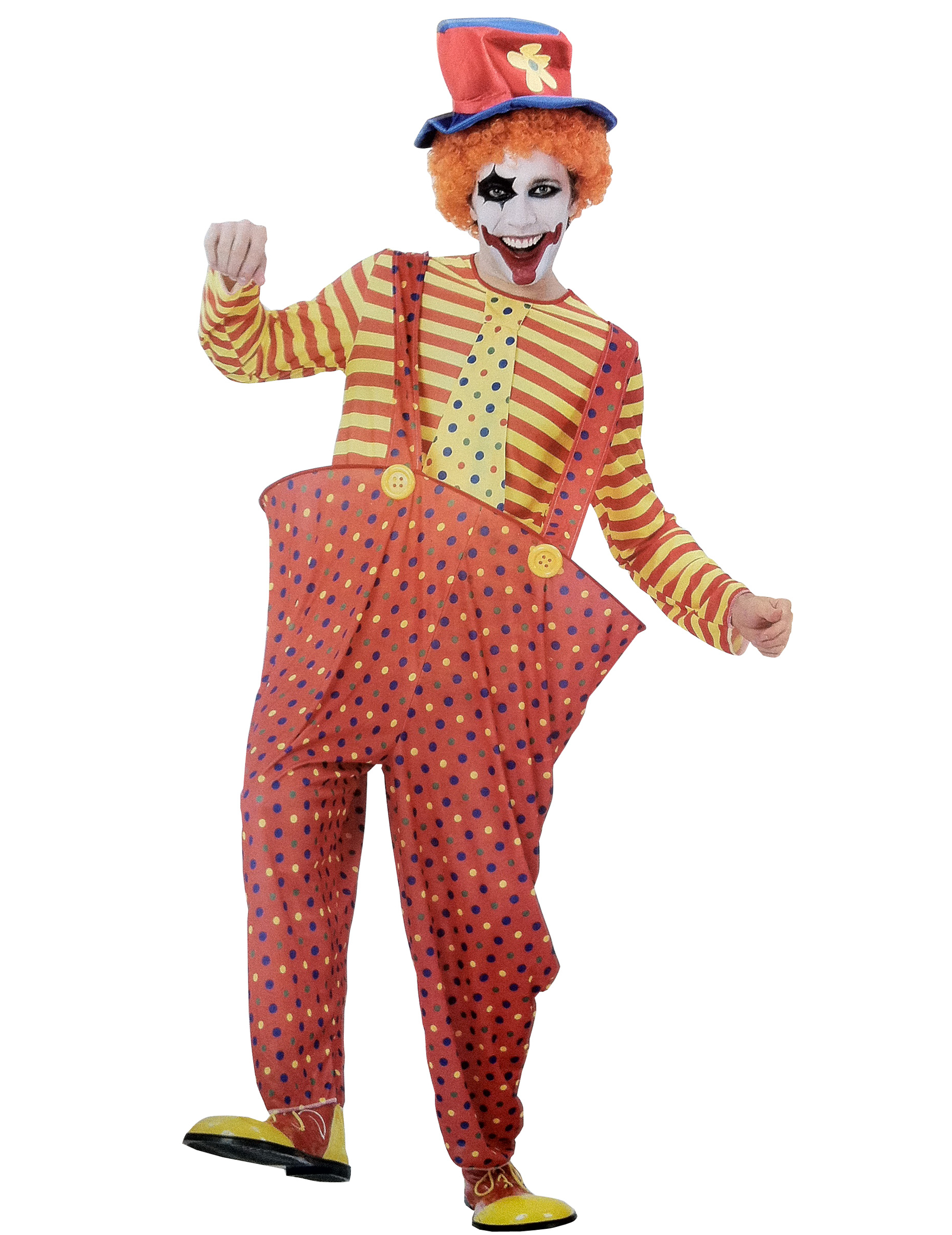 Costume da clown uomo  Costumi adulti e vestiti di 20a8eacac5a0