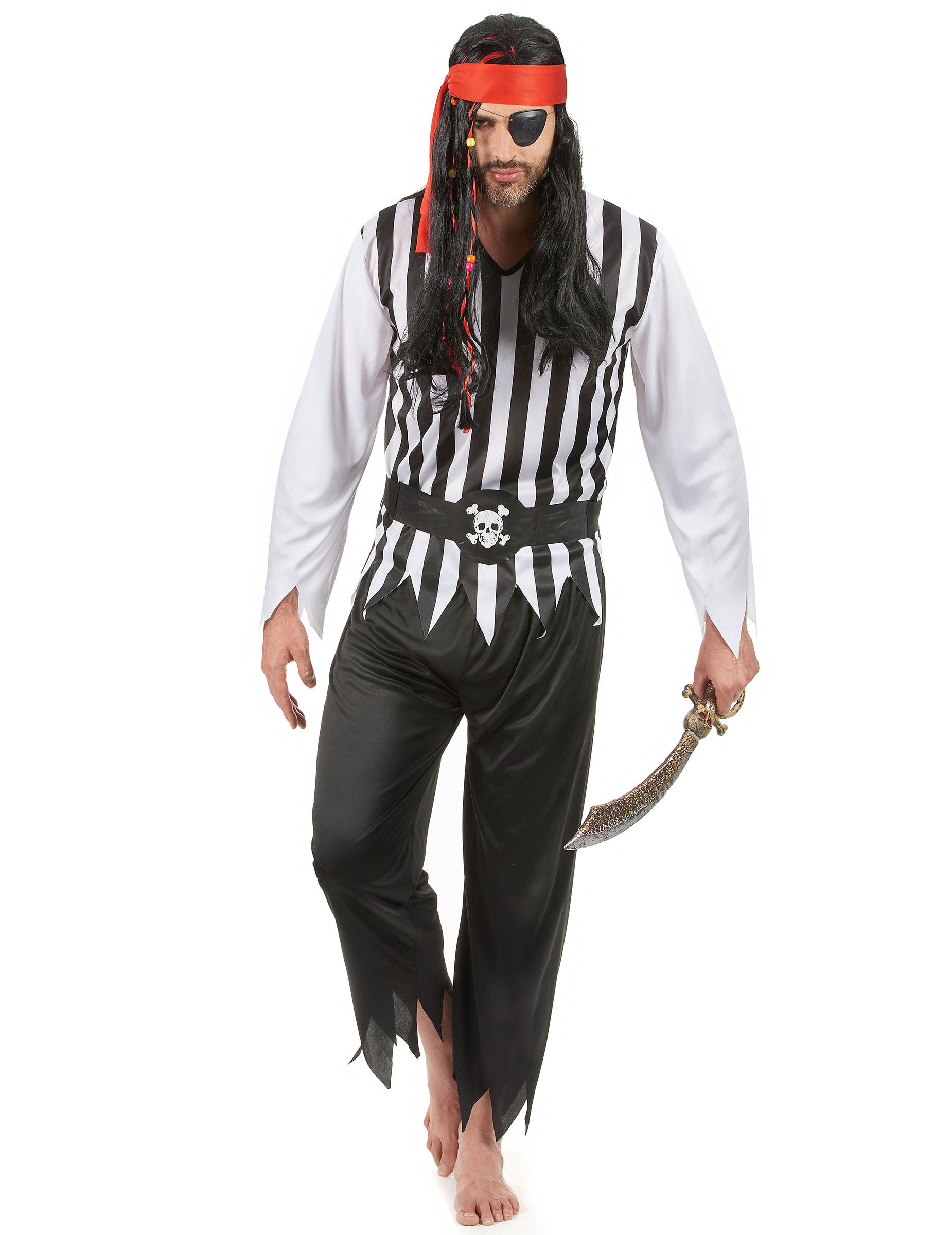 Vestiti da pirati e piratesse a basso prezzo - vegaoo.it 205773511ef7