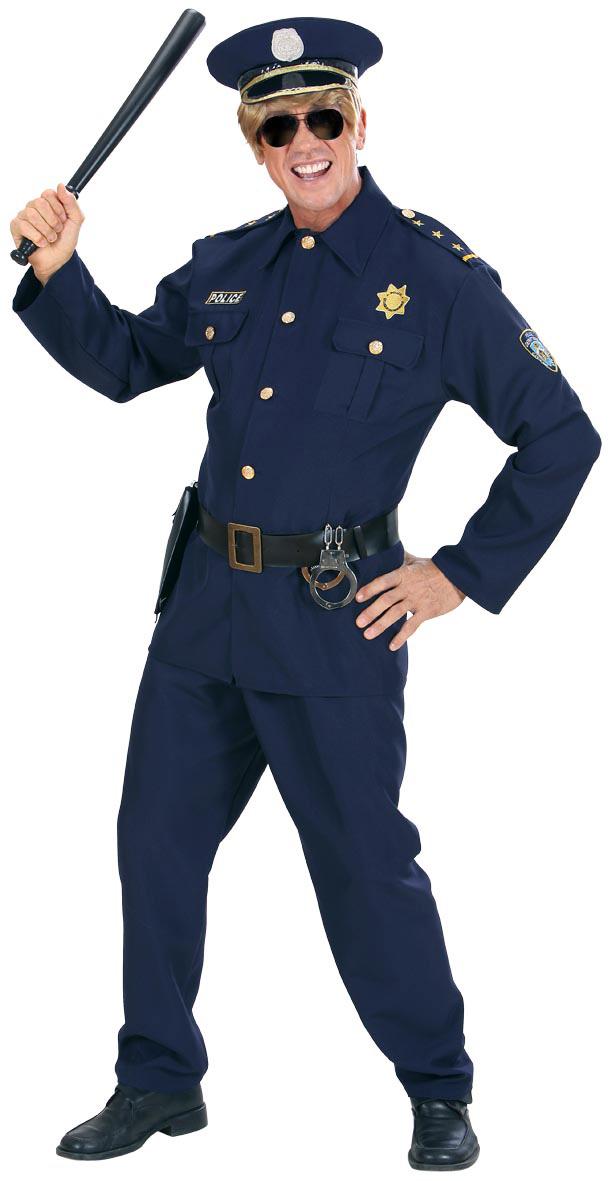cffe2e38ef Costume da poliziotto biondo per uomo