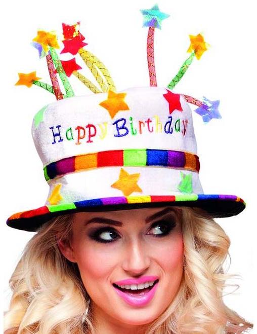 Cappello Di Buon Compleanno Da Adulto