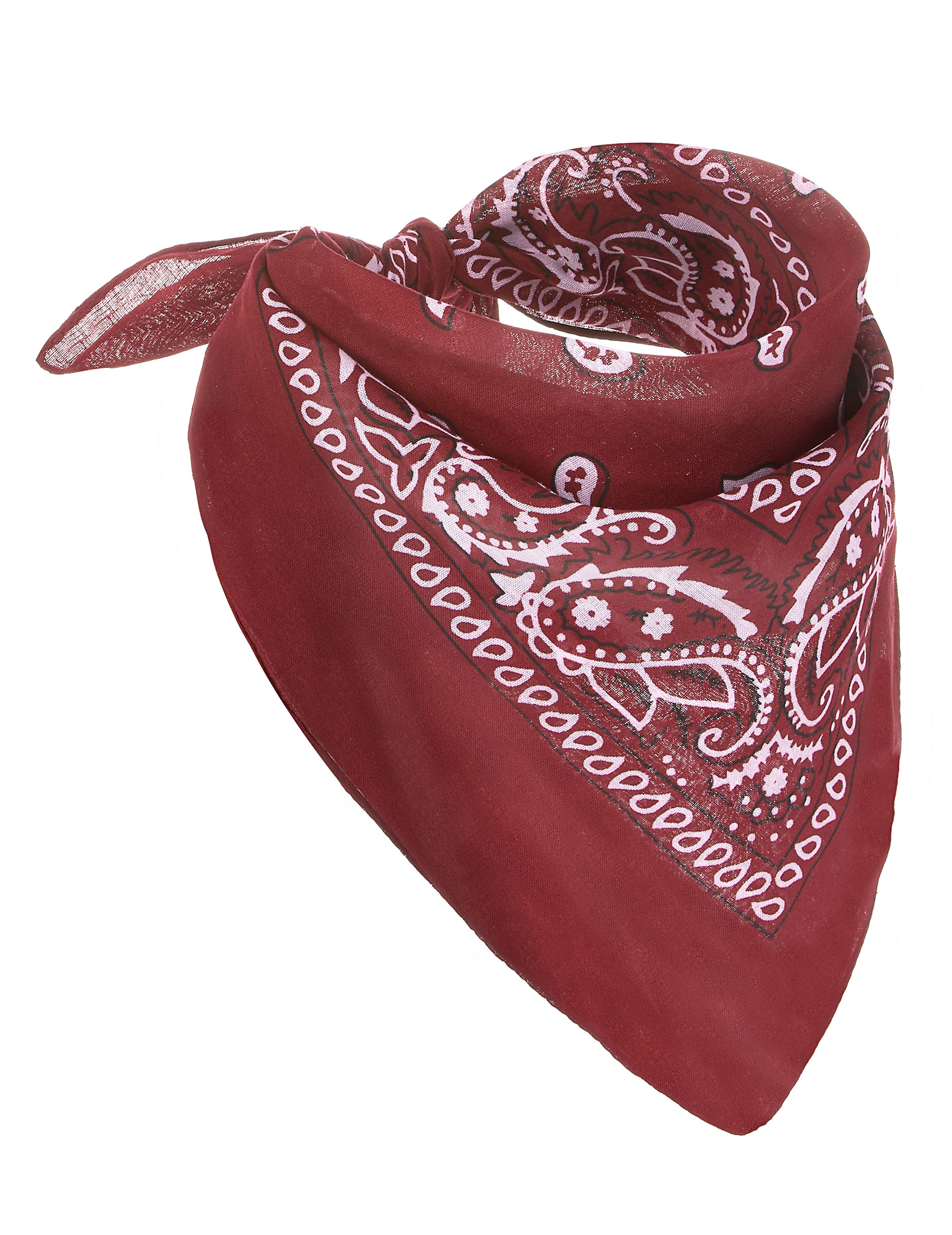 Bandana cowboy rossa  Accessori ef862c75cd2d