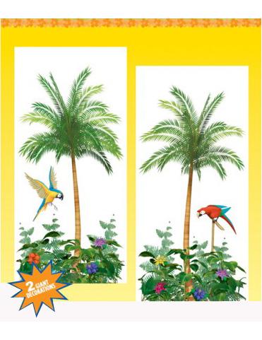 Decorazioni murali palme addobbi e vestiti di carnevale for Decorazioni murali