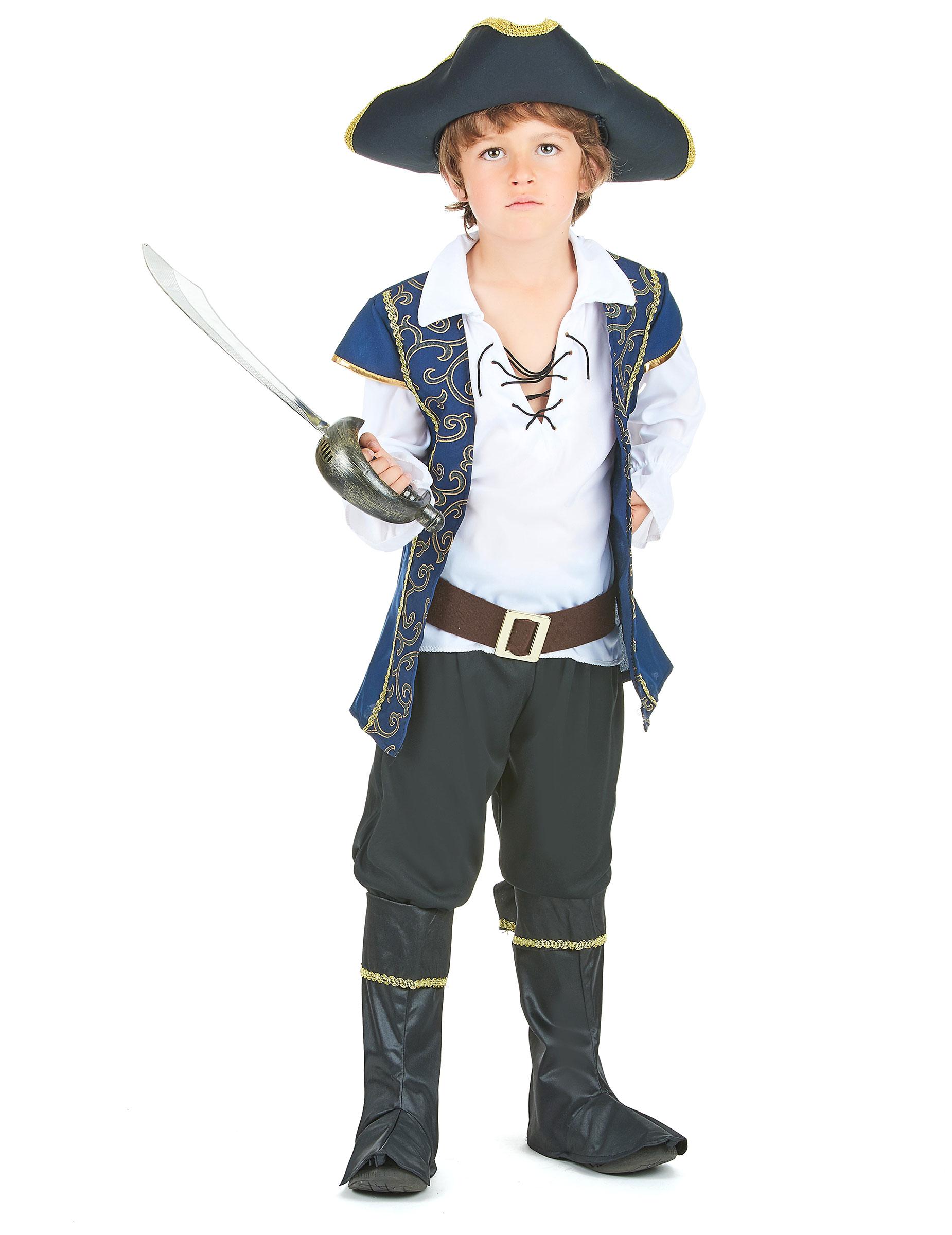 Bambini Vestiti E BambinoCostumi Di Blue Pirata e Costume Oro Per 54RqcAjL3