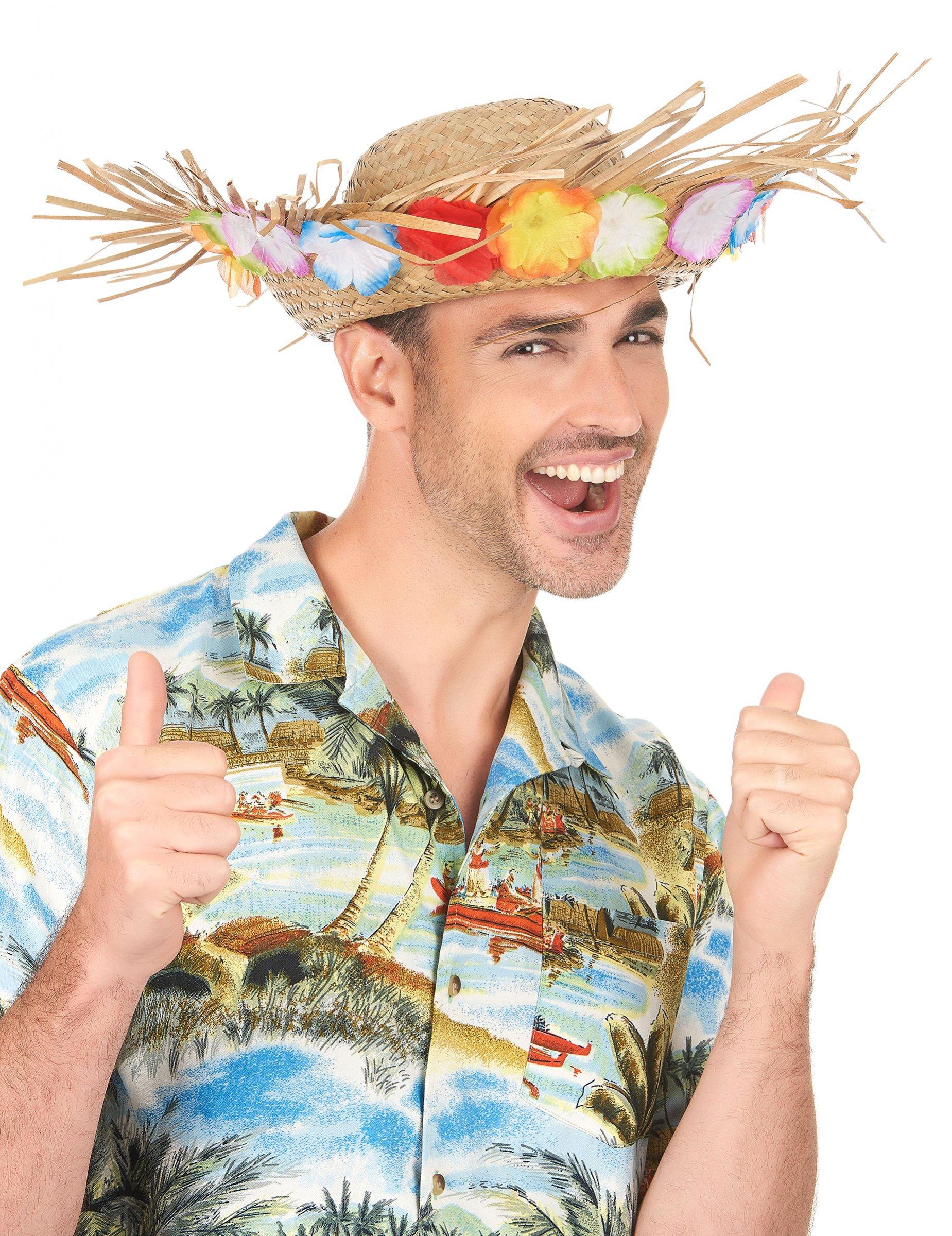 Cappello di paglia Hawaii  Cappelli 7a8ac371efca