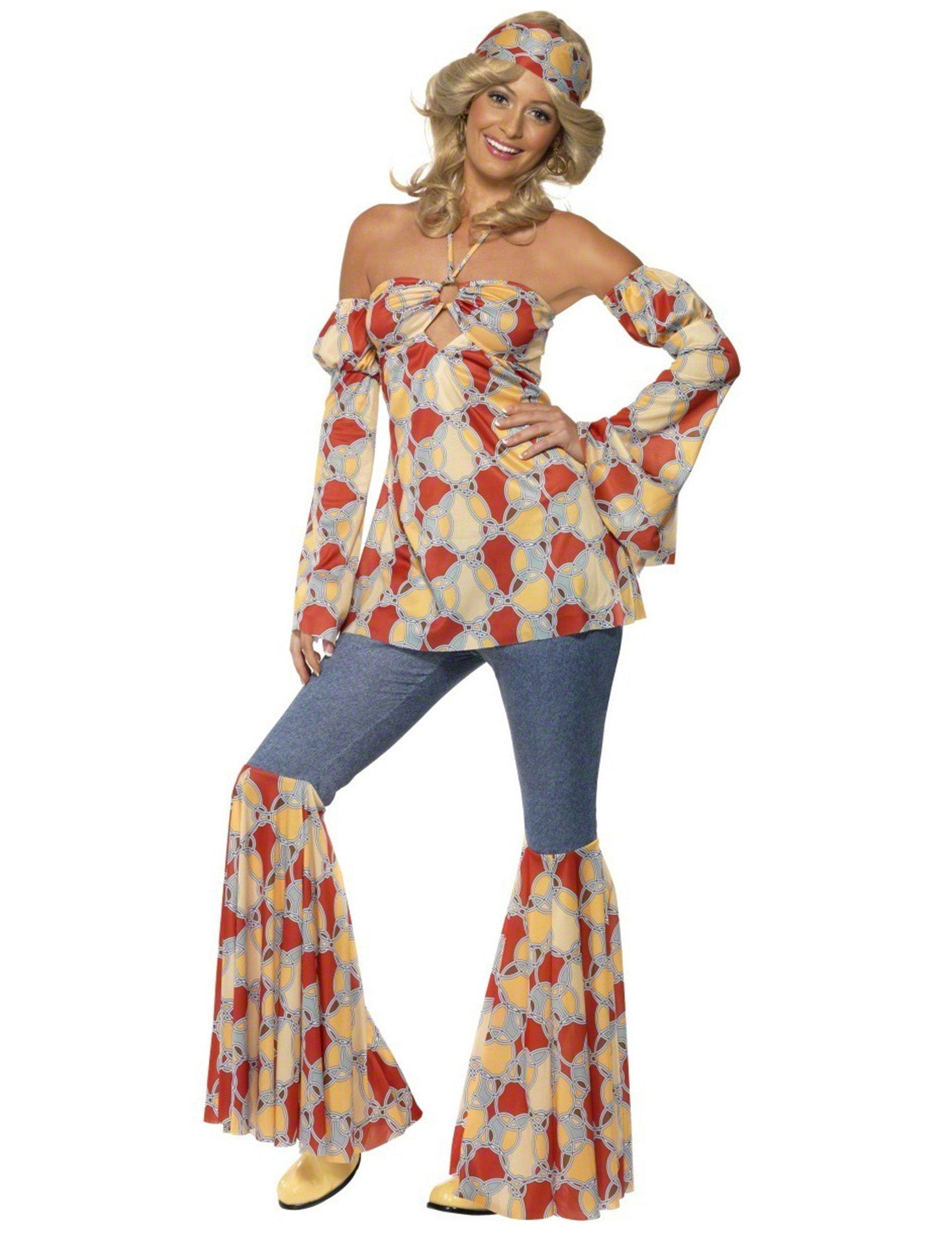 così economico online in vendita offrire Costume disco anni 70 donna