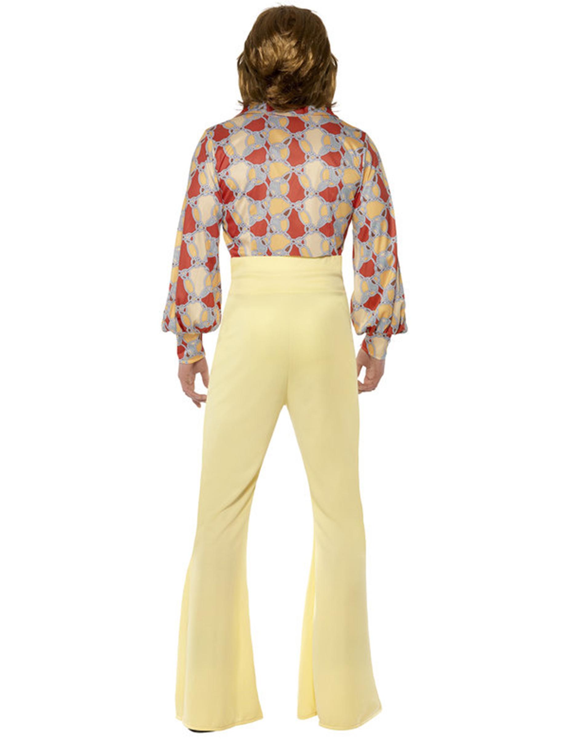 Uomo Anni 70.Dettagli Su Costume Disco Uomo Anni 70 Carnevale Cod 200047