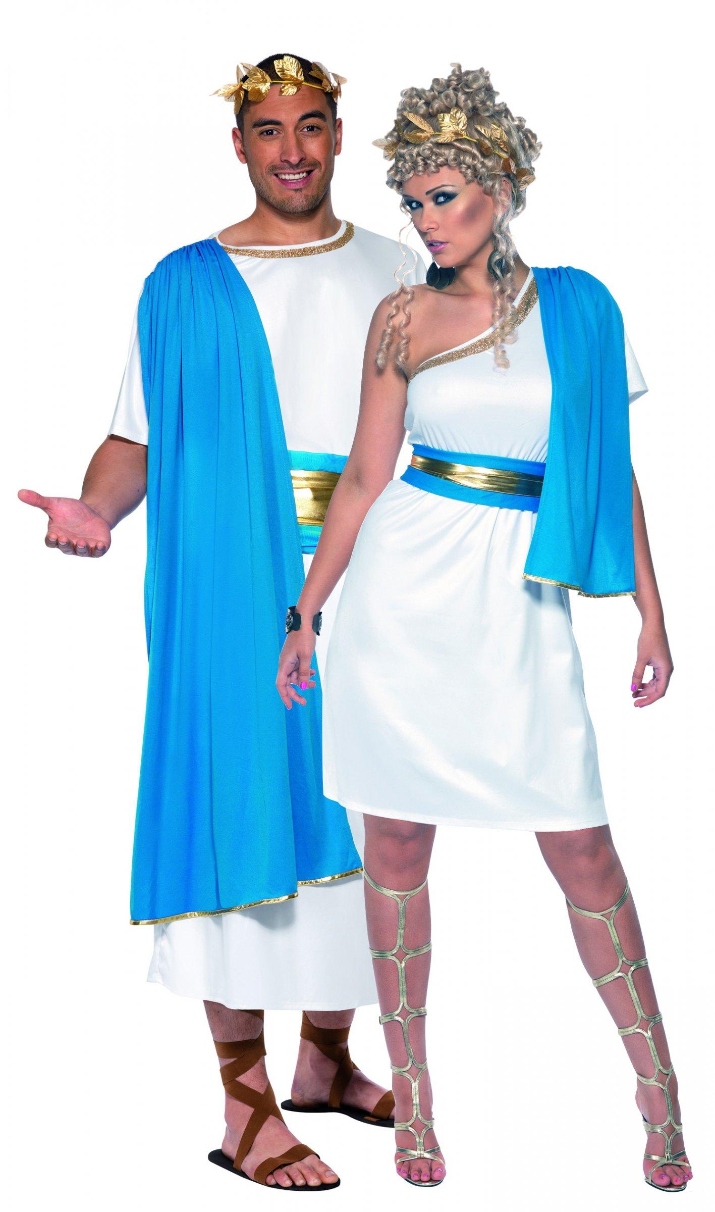 Estremamente Costume coppia di romani blu: Costumi coppia,e vestiti di  WU25