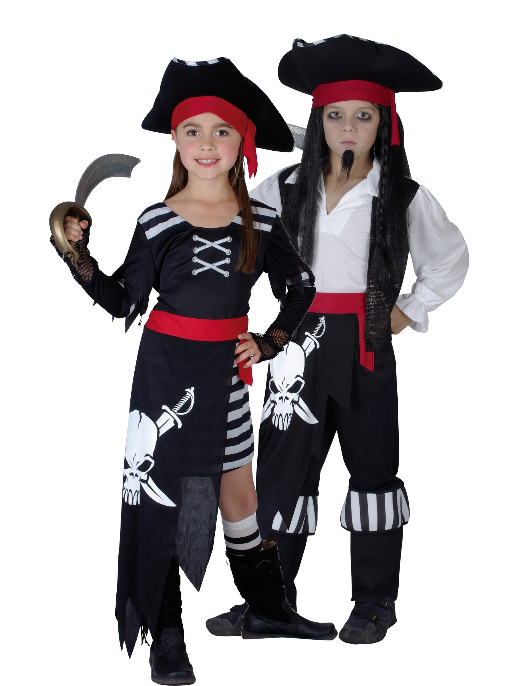 Eccezionale Vestiti da pirati per coppie, travestitevi da coppia di  HW09