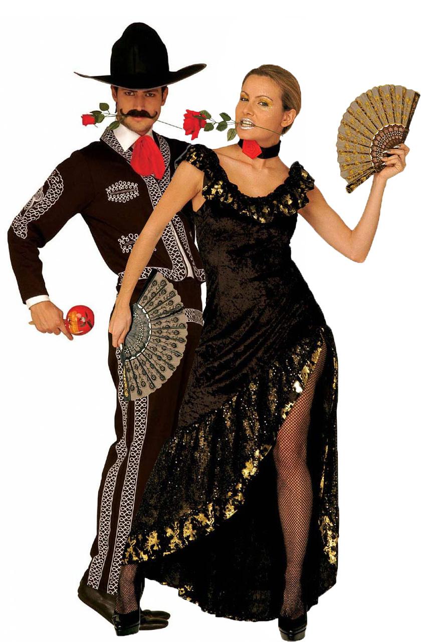 Bien connu Costume coppia spagnoli: Costumi coppia,e vestiti di carnevale  VV31