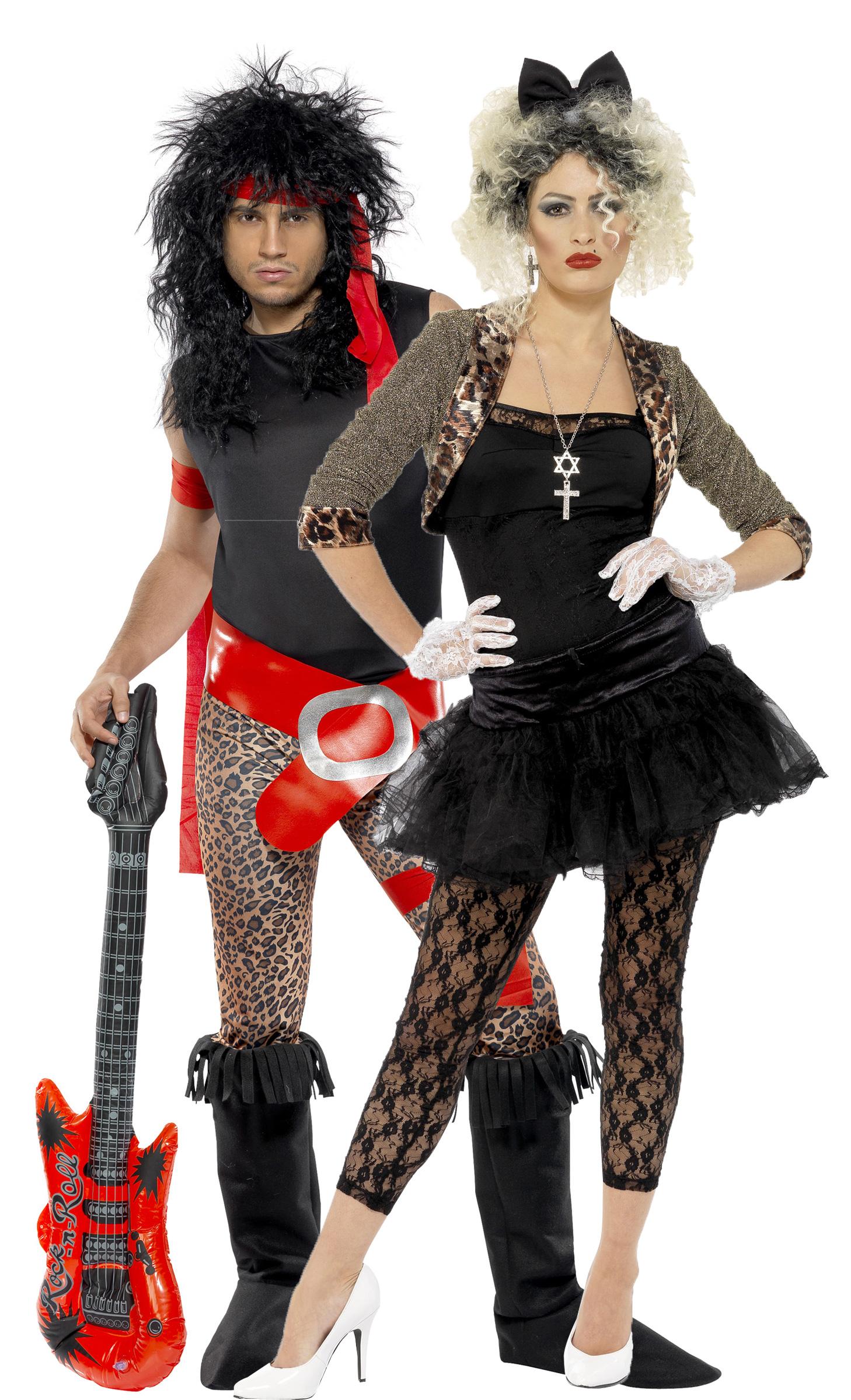Costume coppia rock