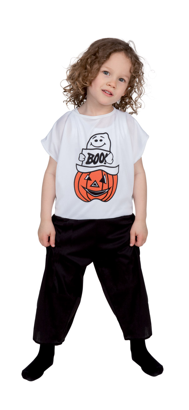 Costume fantasma e zucca di Halloween bambino: Costumi ...