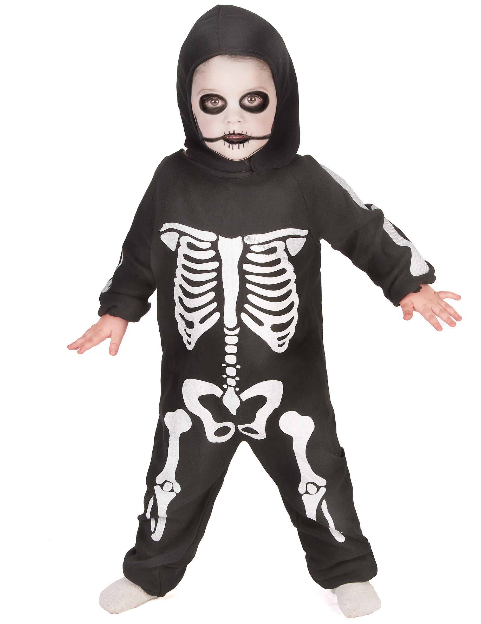 Costume da mini scheletro bambino Halloween  Costumi bambini e21295dd7e4