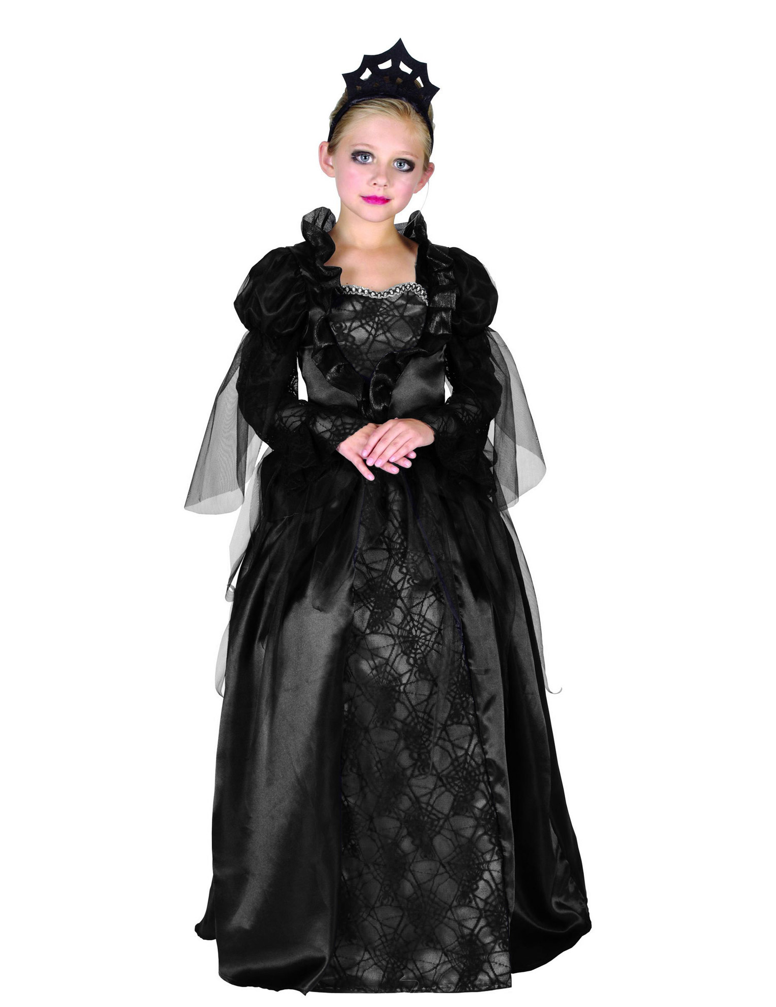 costume da contessa di halloween per bambina costumi bambini e vestiti di carnevale online vegaoo. Black Bedroom Furniture Sets. Home Design Ideas