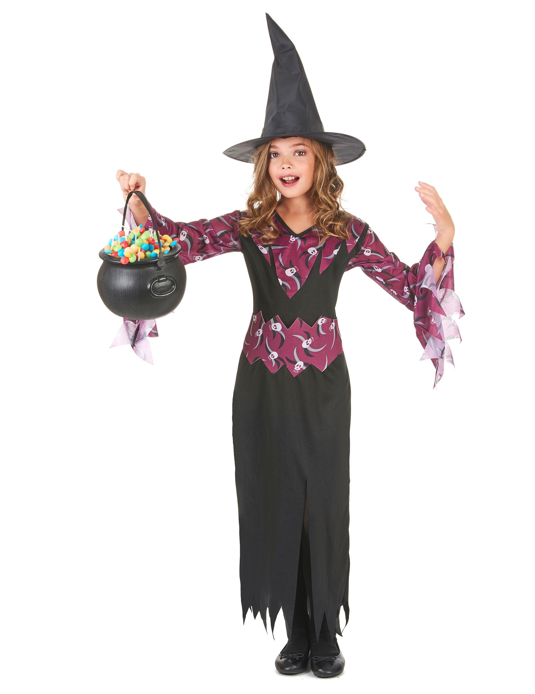 Vestiti da streghetta e mago per l Halloween dei bambini - Vegaoo.it e306f9ce8185