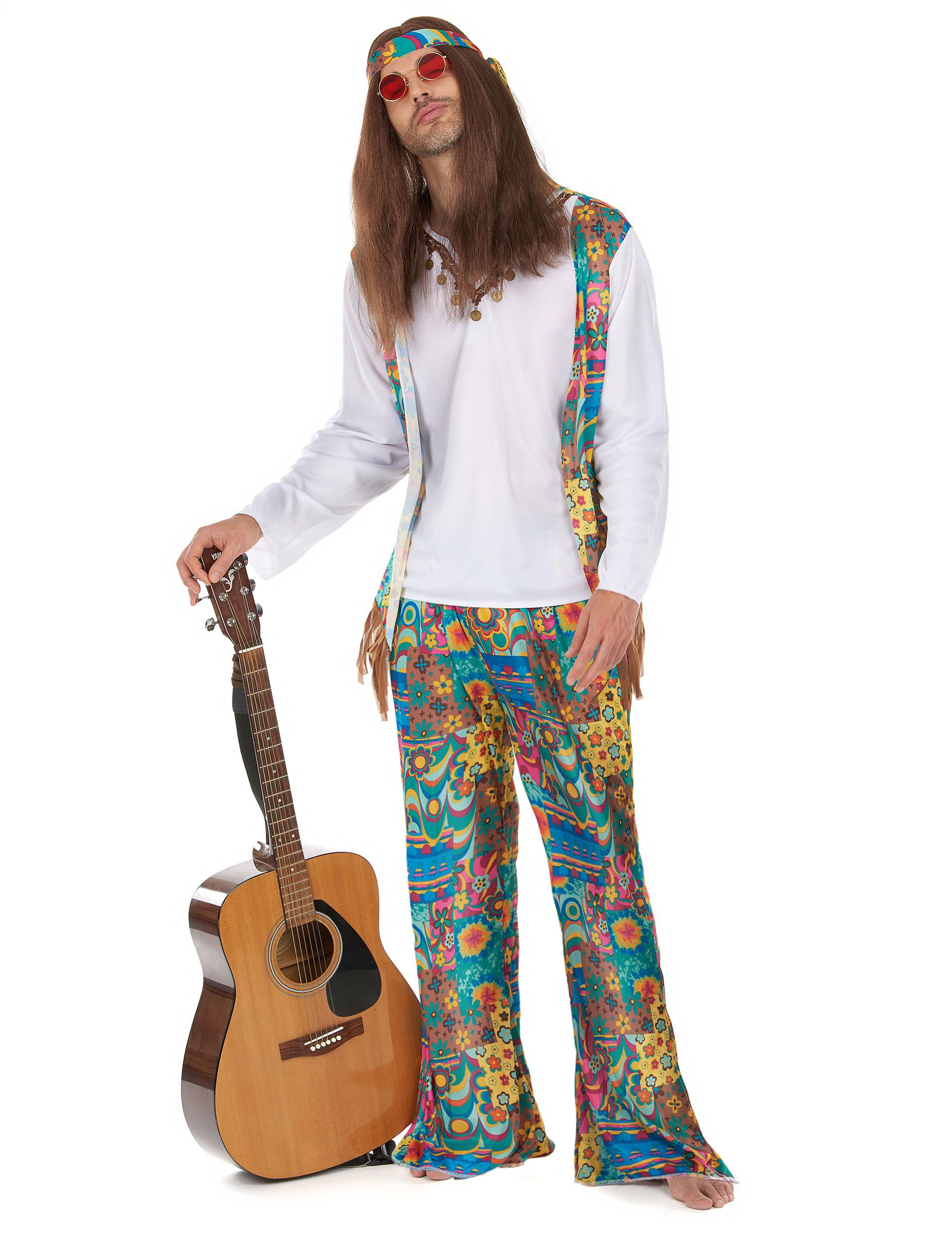 Costume hippy uomo Costumi adultie vestiti di carnevale online - Vegaoo