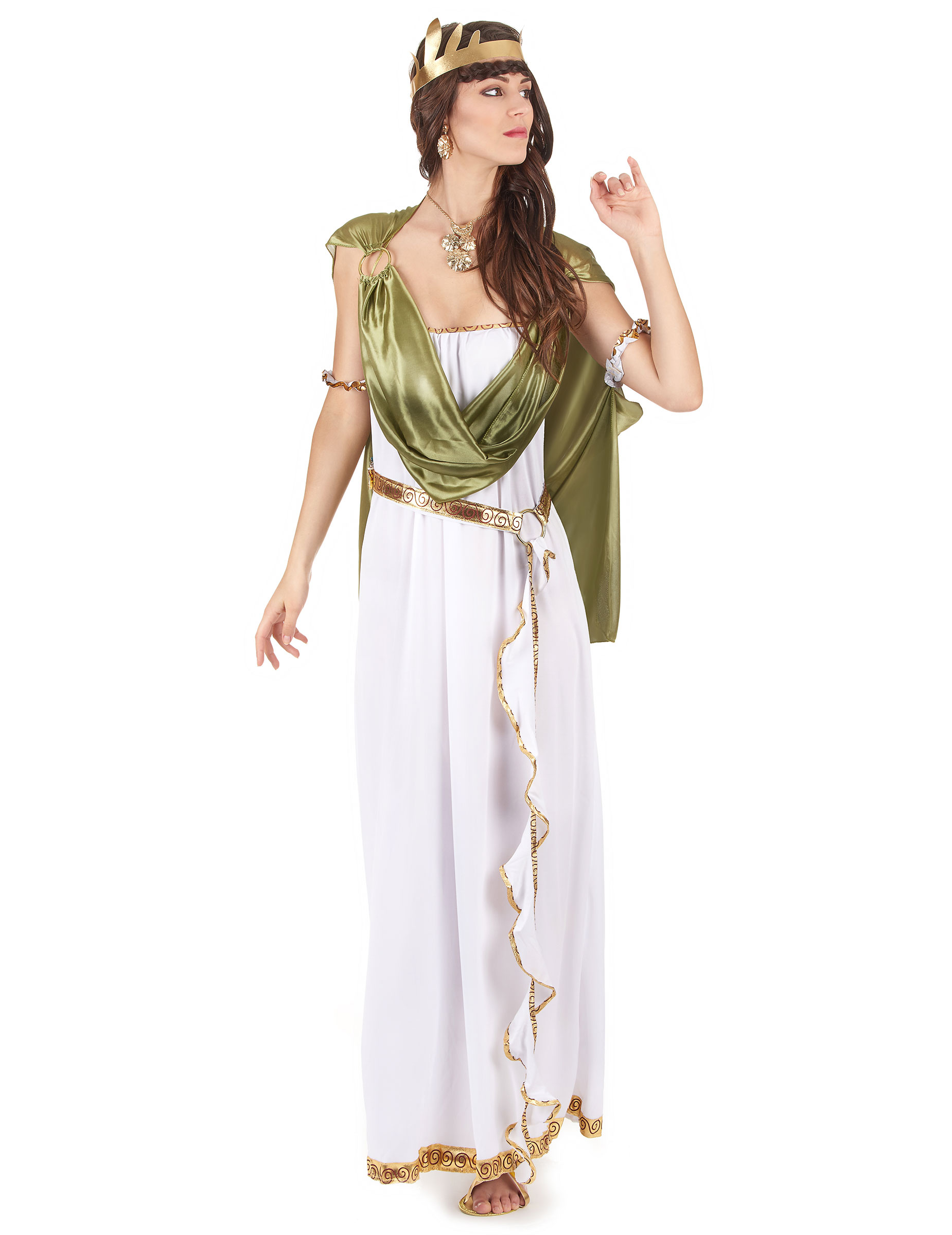 Taglia unica DEA greca Adulto Costume