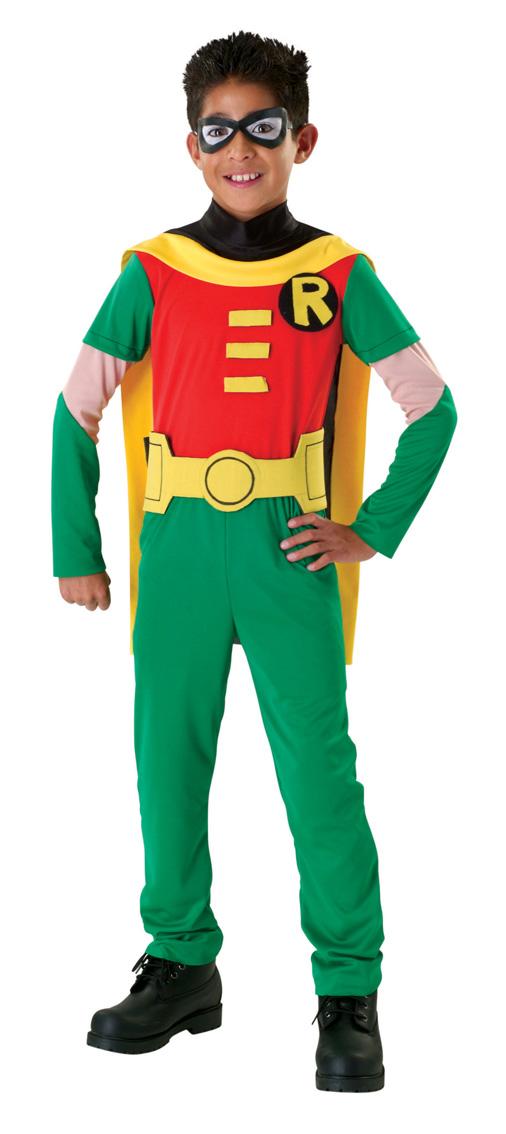 Costume Da Robin Dei Teen Titans Per Bambino Costumi Bambini,E Vestiti Di -3009