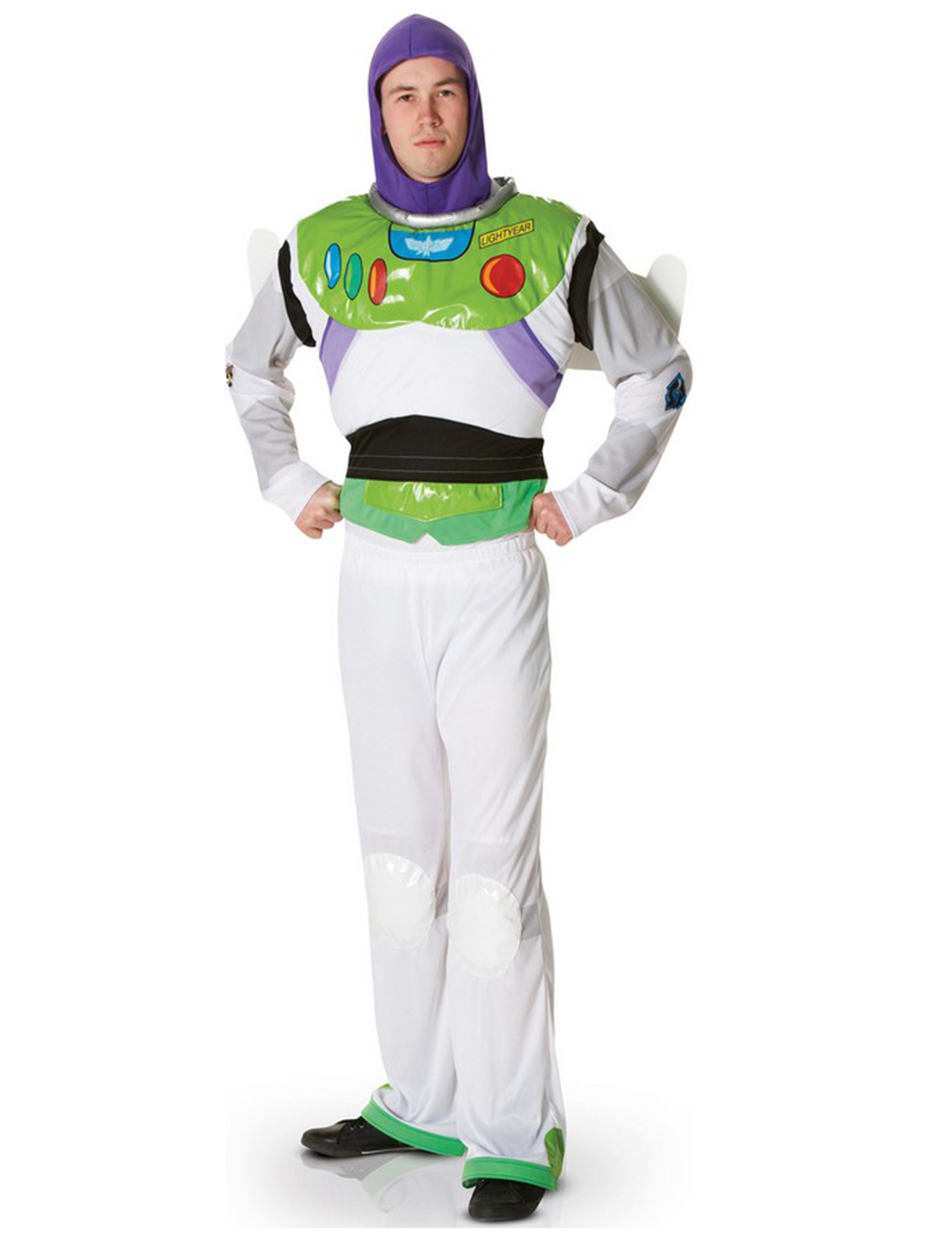 costume buzz lightyear disney pixar uomo. Black Bedroom Furniture Sets. Home Design Ideas