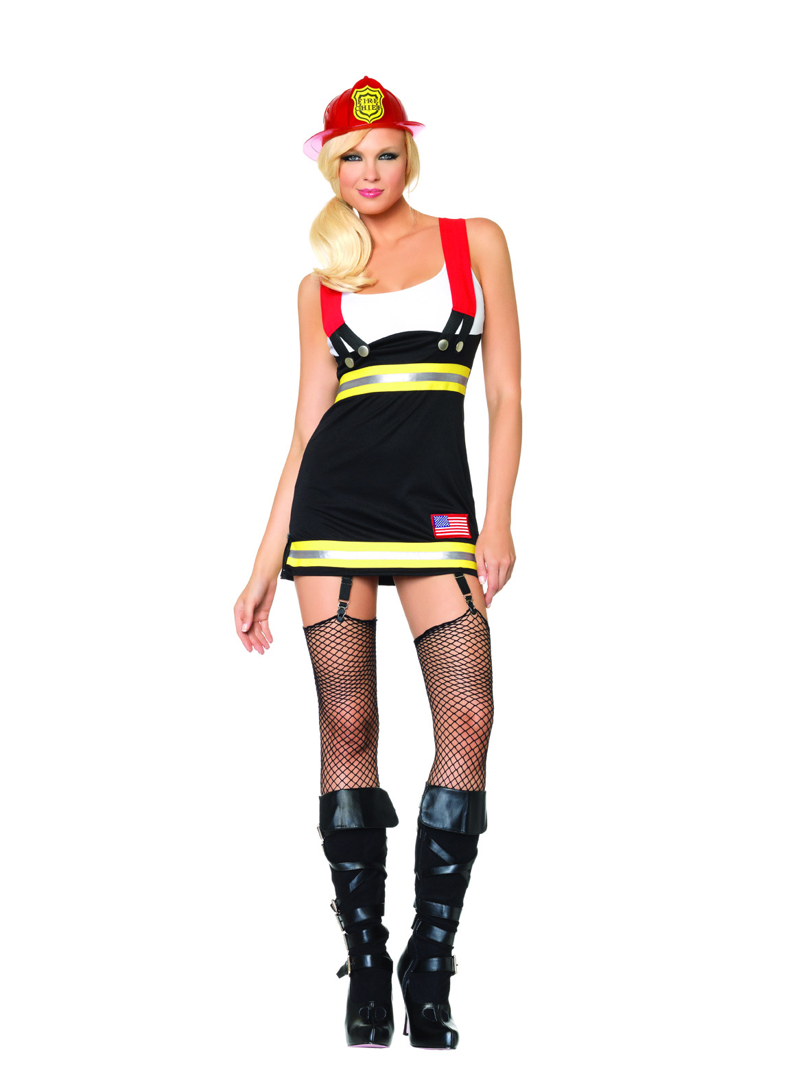 Costume Pompiere Sexy Donna Costumi Adulti,E Vestiti Di -3942