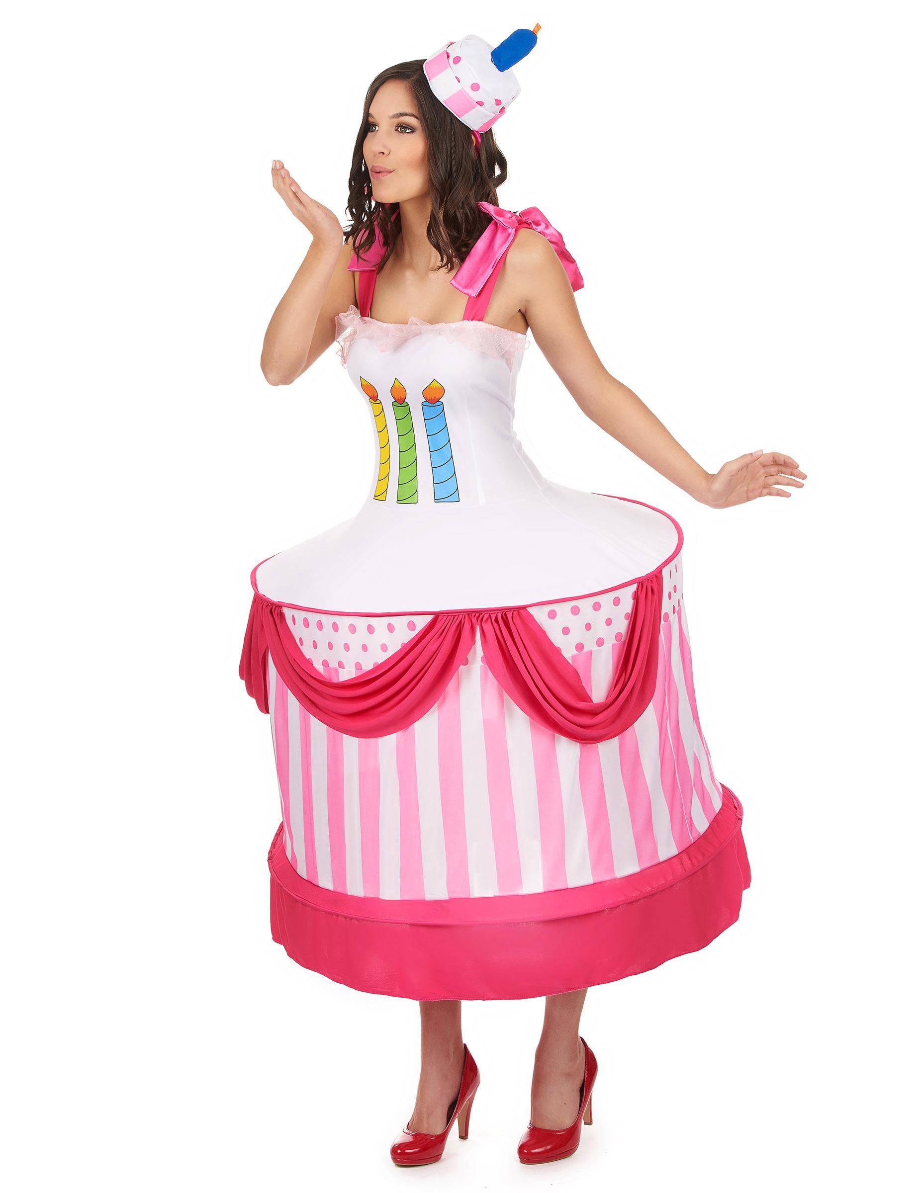 miglior servizio bellezza codici promozionali Costume torta di compleanno donna