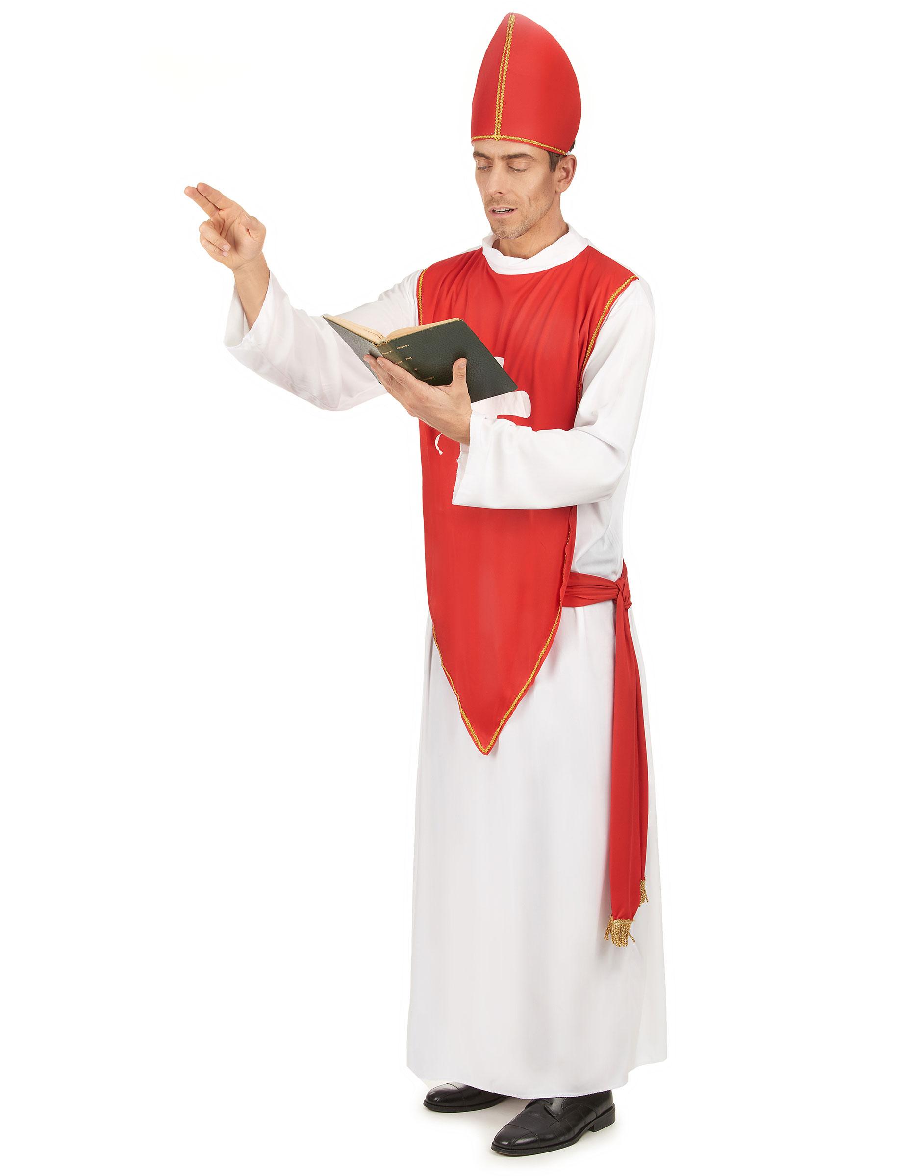 Costume cardinale uomo  Costumi adulti 0620240c592
