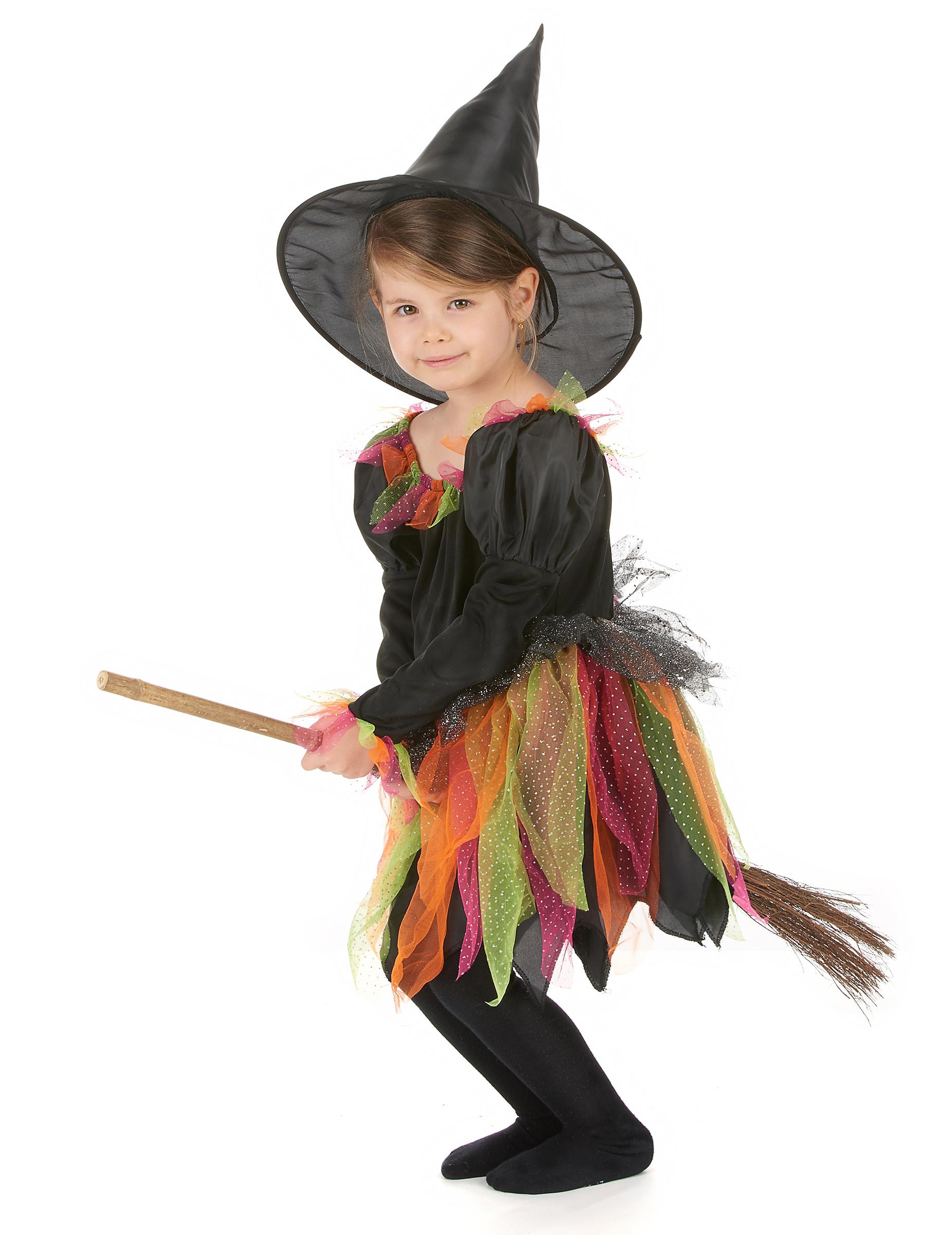 Costume strega dell autunno bambina Halloween-1 e8a2672a51dd