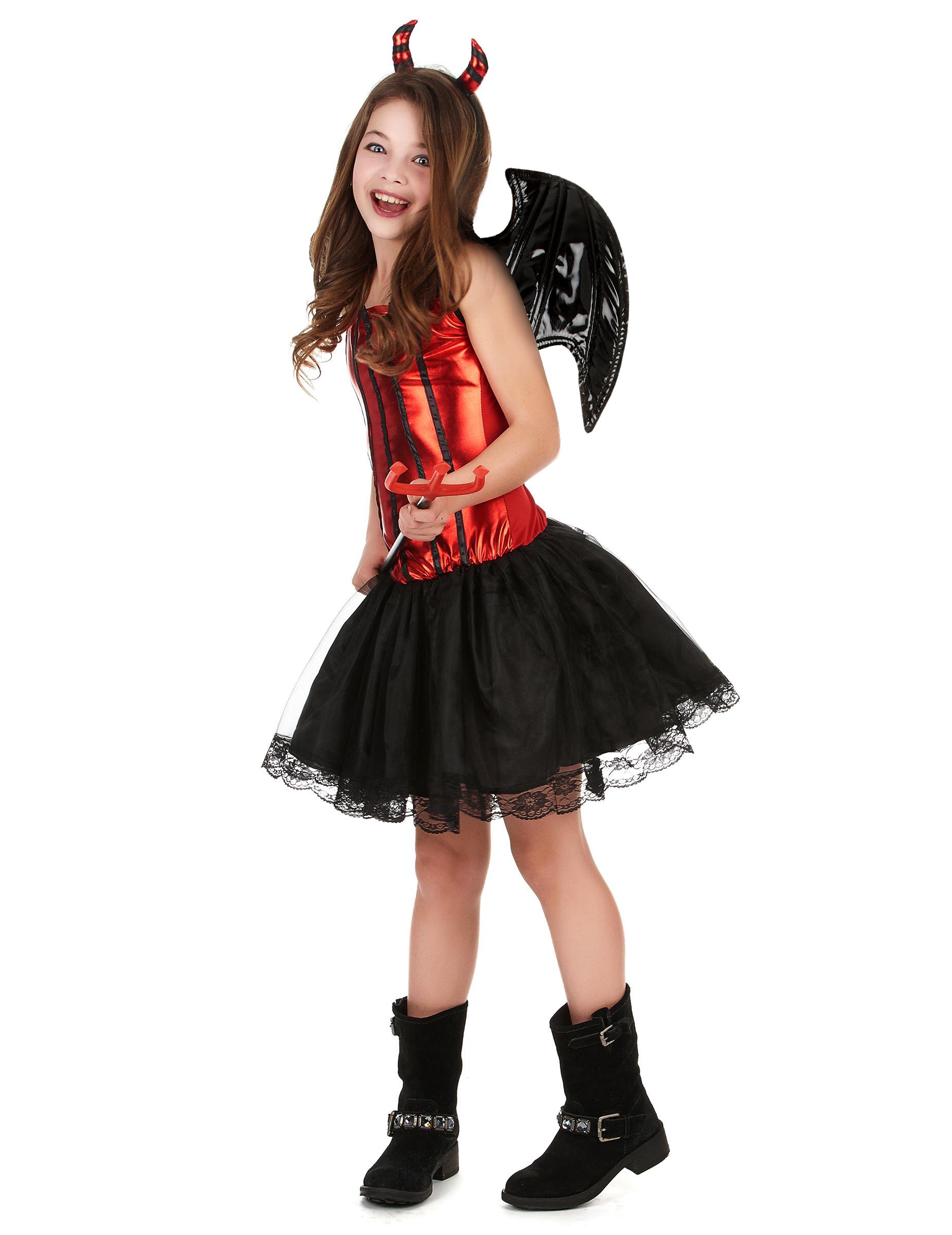 Costume da diavolessa bambina 6401c1ba59a1