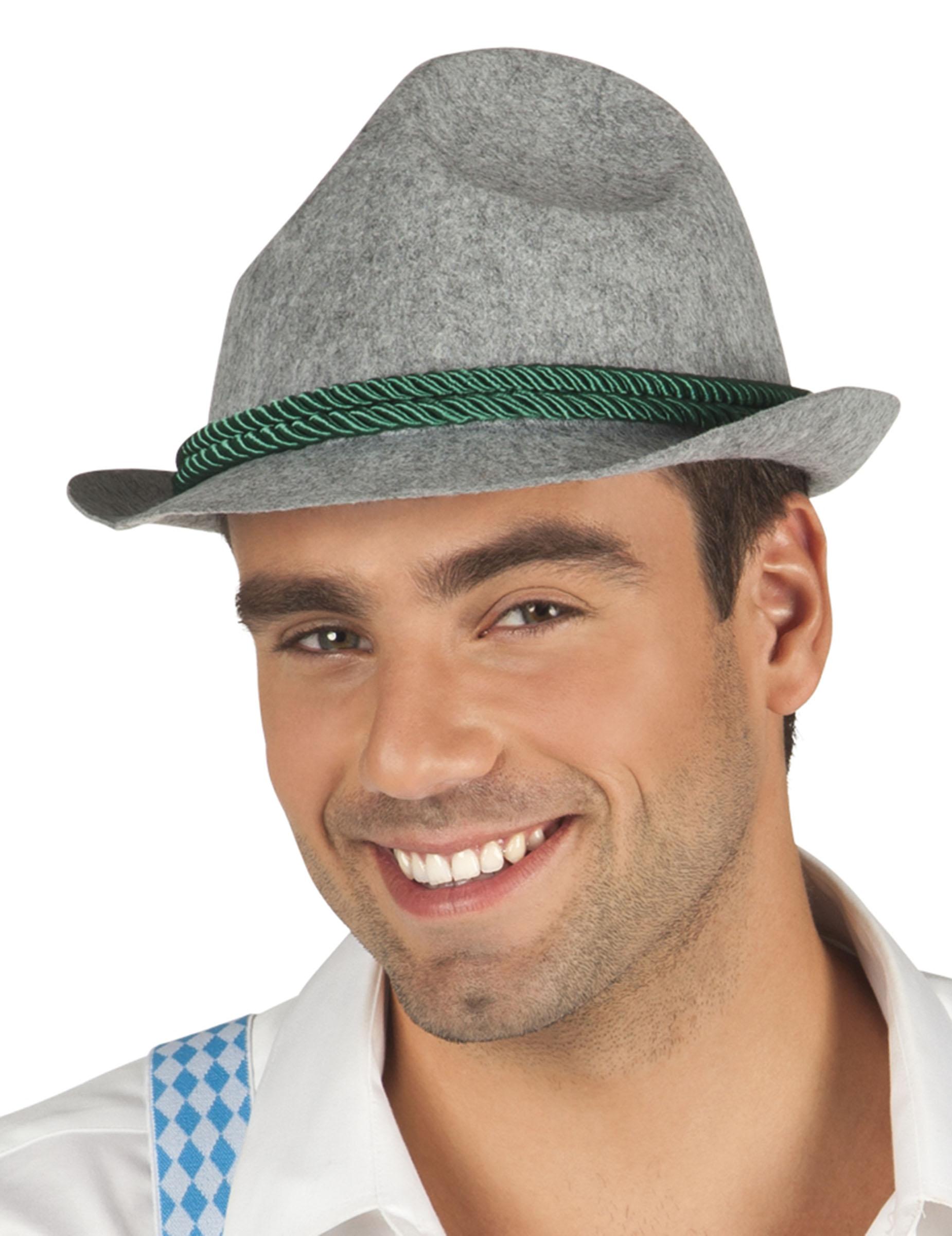 Cappello bavarese grigio uomo donna  Cappelli f4812df2ef47