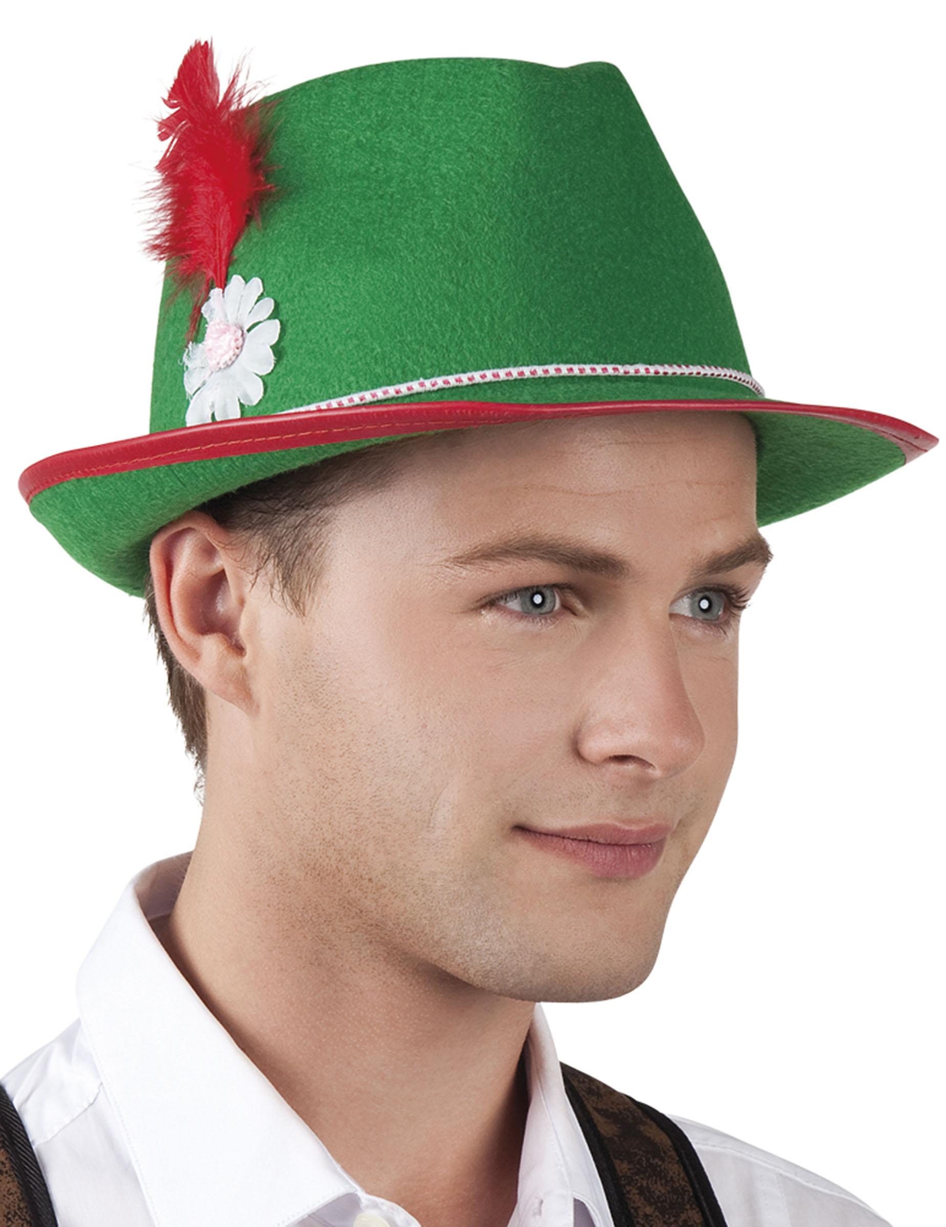 Cappello bavarese verde uomo donna ff78d11919e2