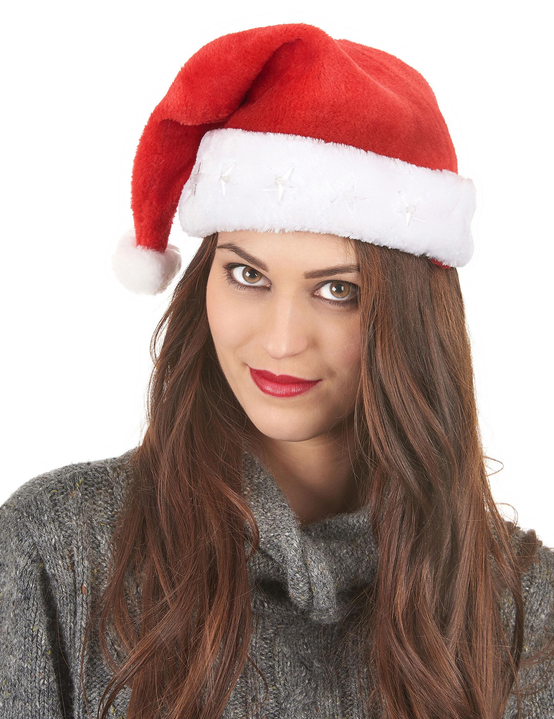 Cappello di Natale luminoso  Cappelli 38c8f7e5b0d4