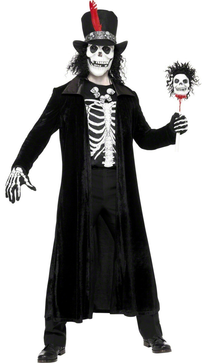 Costumi Halloween Adulti.Costume Stregone Voodoo Adulto Halloween