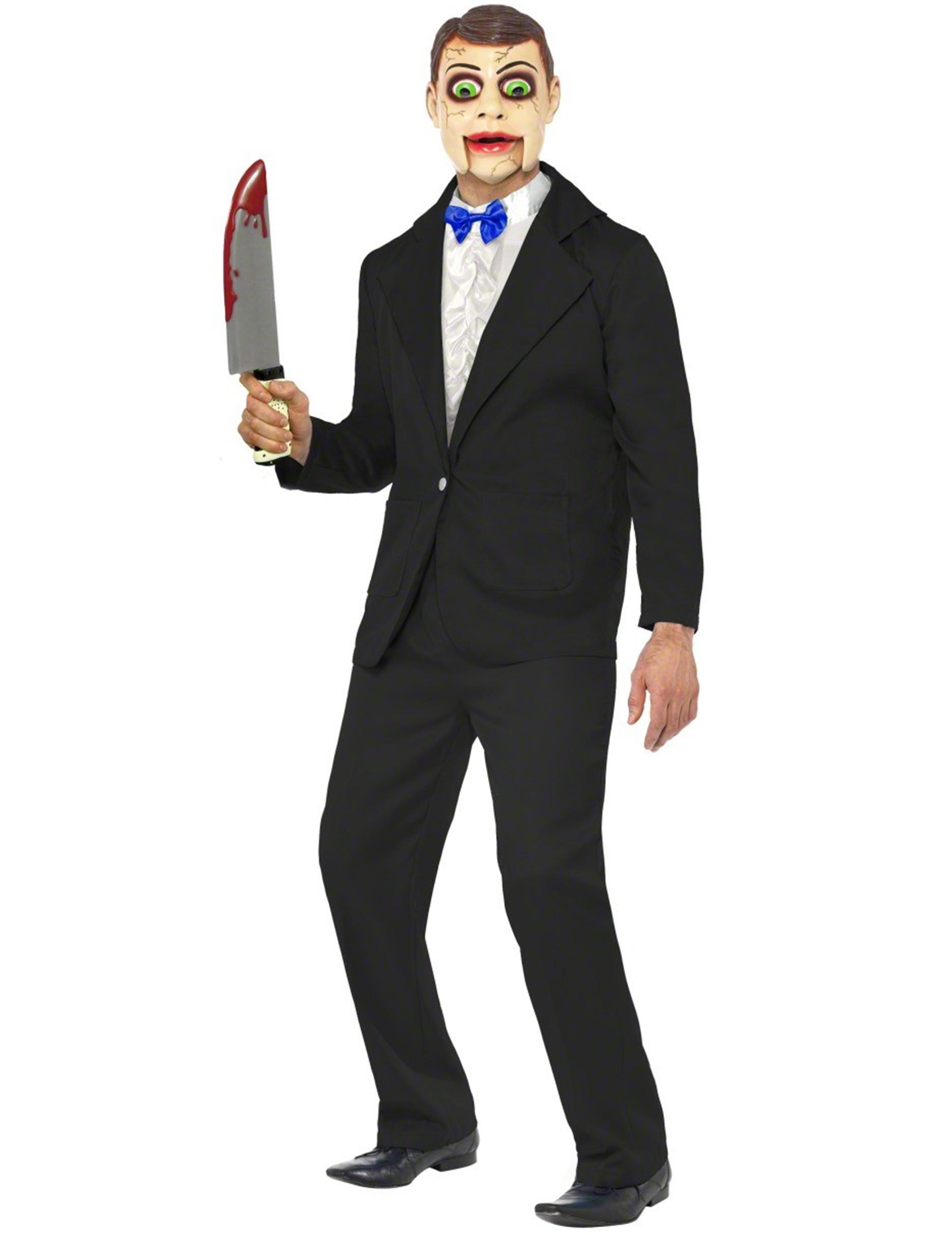 Favoloso Costume da ventriloquo uomo per Halloween: Costumi adulti,e  UC58