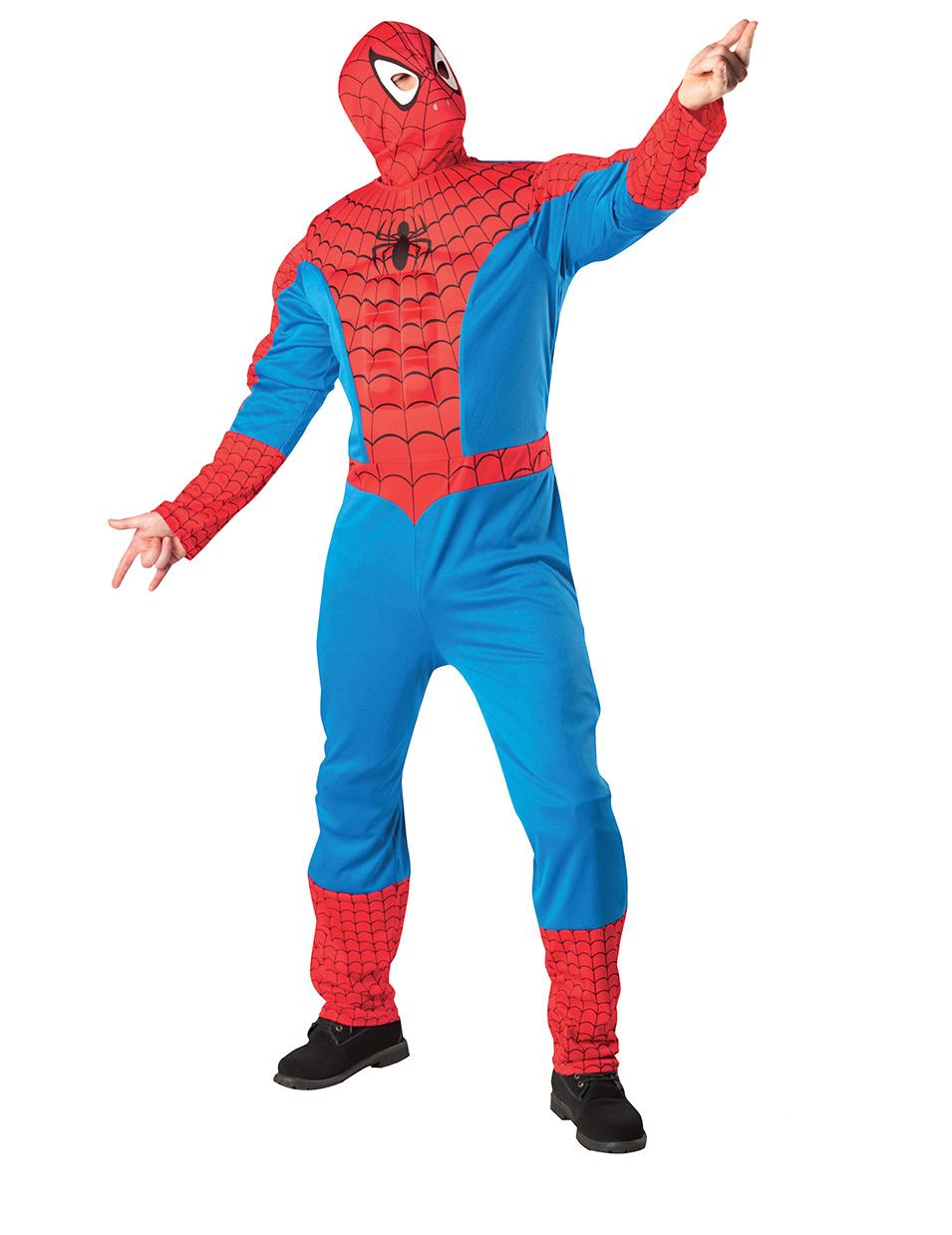 costume da spiderman adulto costumi adulti e vestiti di carnevale online vegaoo. Black Bedroom Furniture Sets. Home Design Ideas