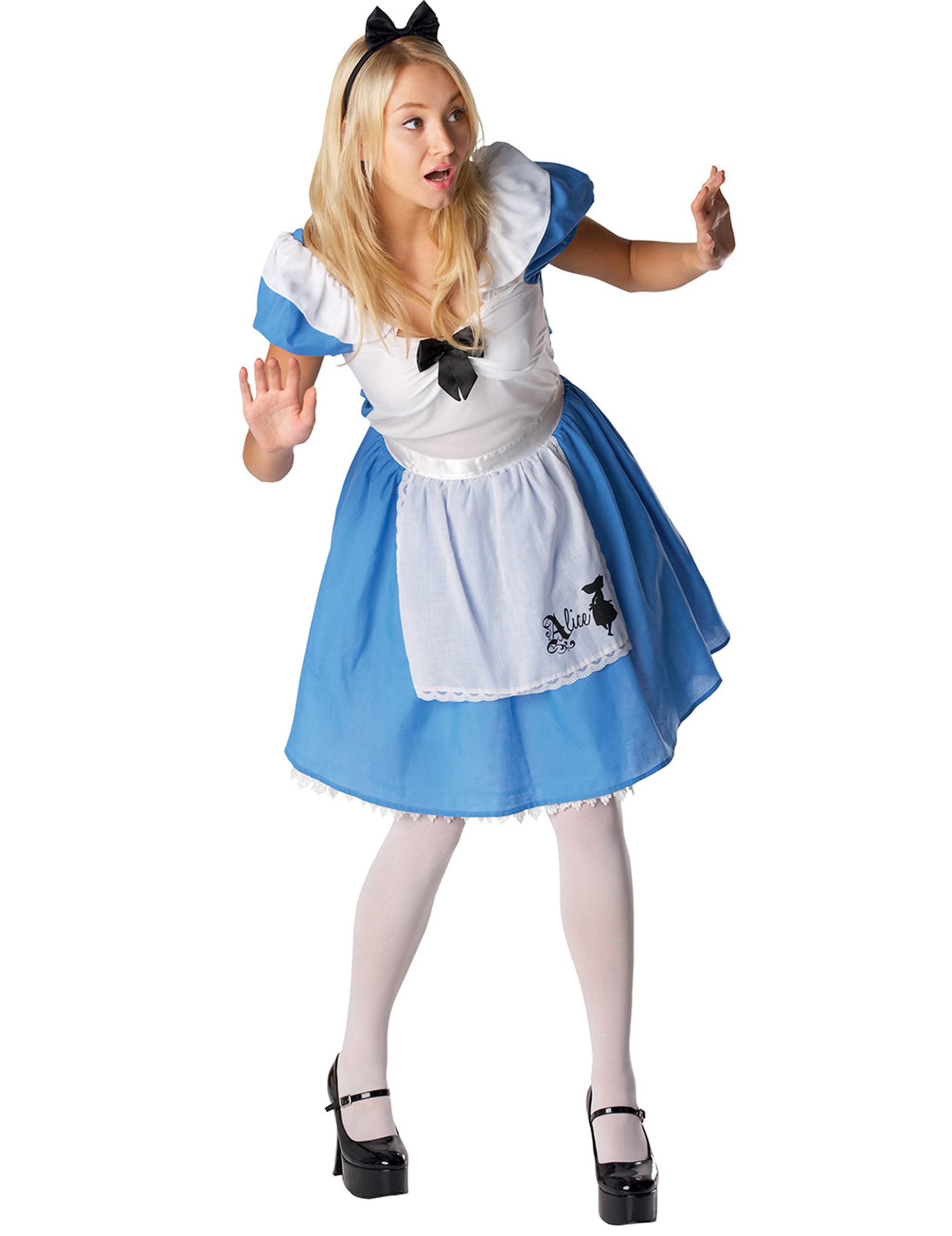 Alice nel paese delle meraviglie Donna Costume Costume Alice