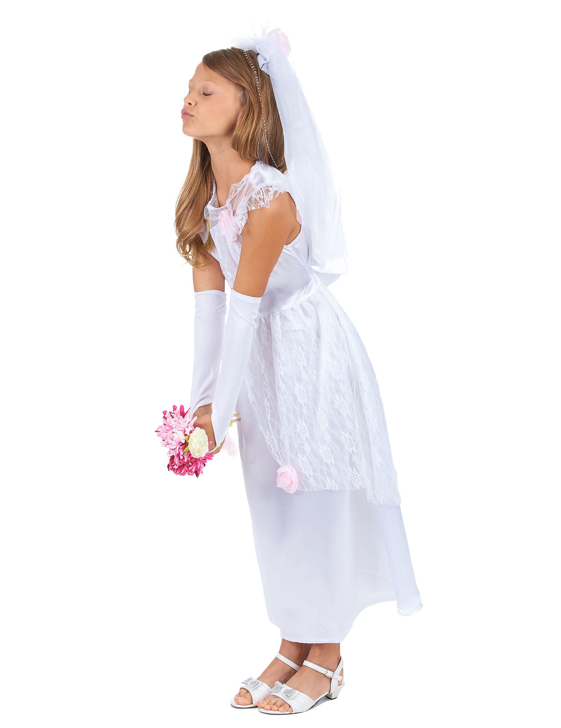 c822fce96ea0 Costume sposa bambina  Costumi bambini