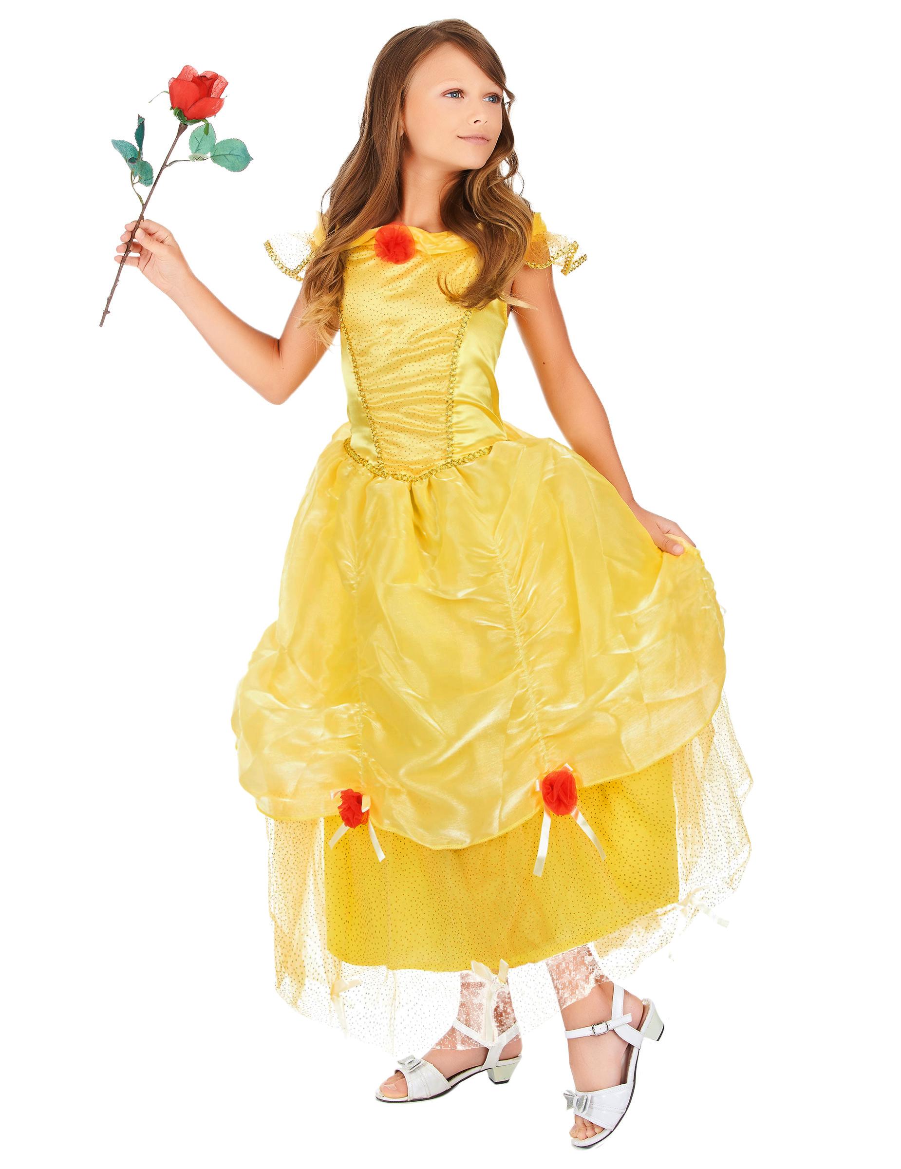 Super Costume principessa bambina: Costumi bambini,e vestiti di  AB82