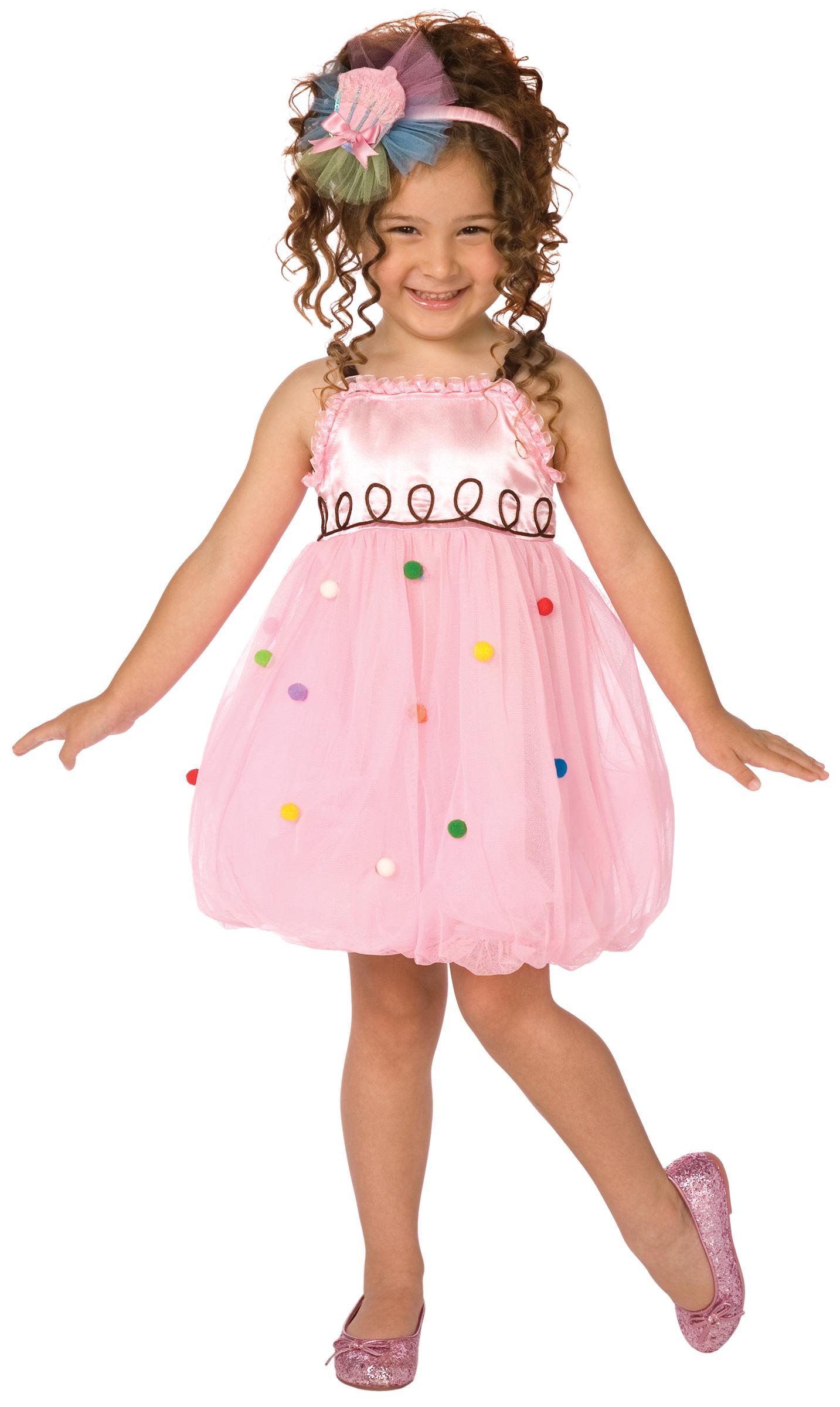 4162ab48d356 Costume cupcake bambina: Costumi bambini,e vestiti di carnevale online -  Vegaoo