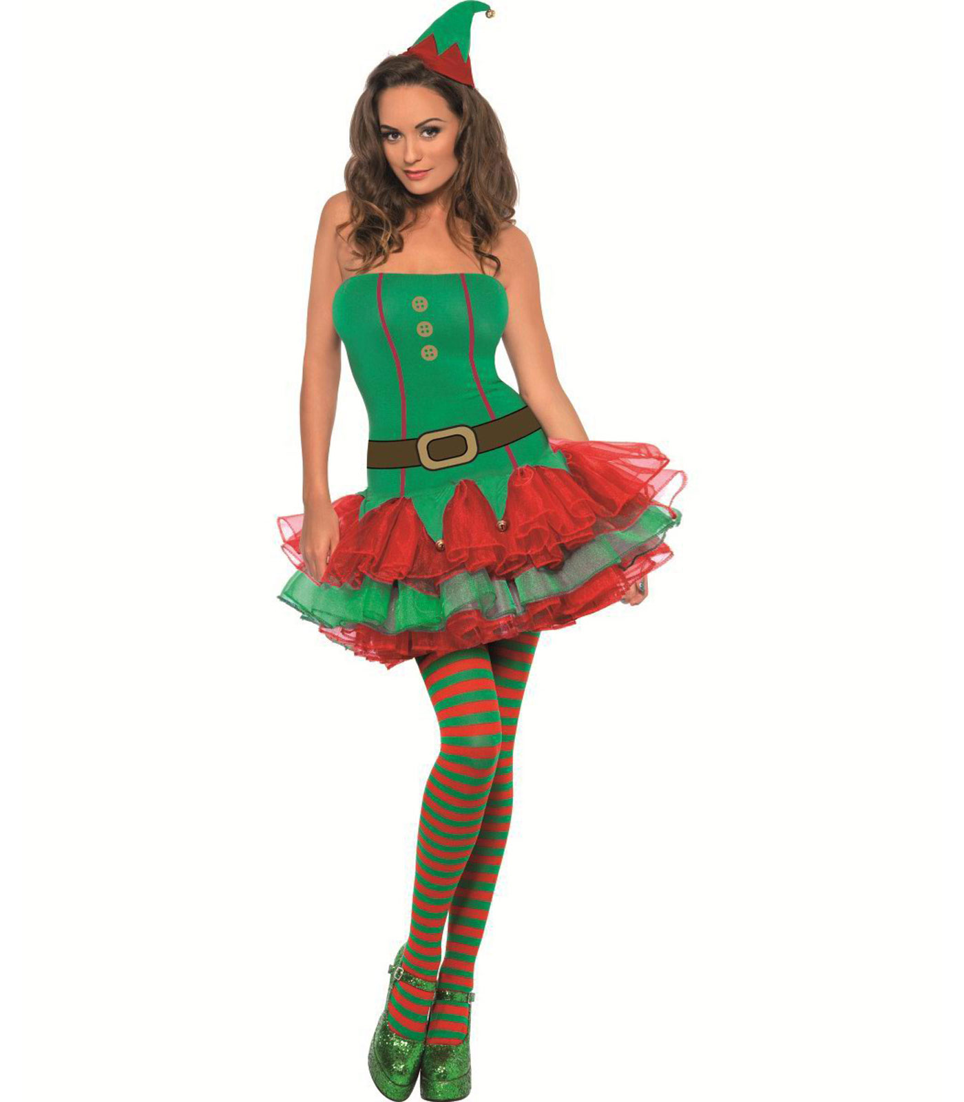 Travestimento elfo sexy adulto donna 87ae94340b85