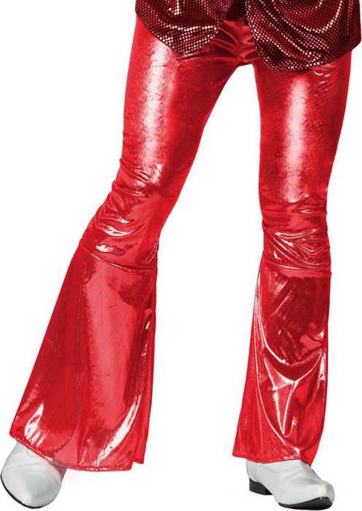 e Disco Di Costumi Vestiti Carnevale Pantalone Uomo Adulti Rosso wA7CpCSxq